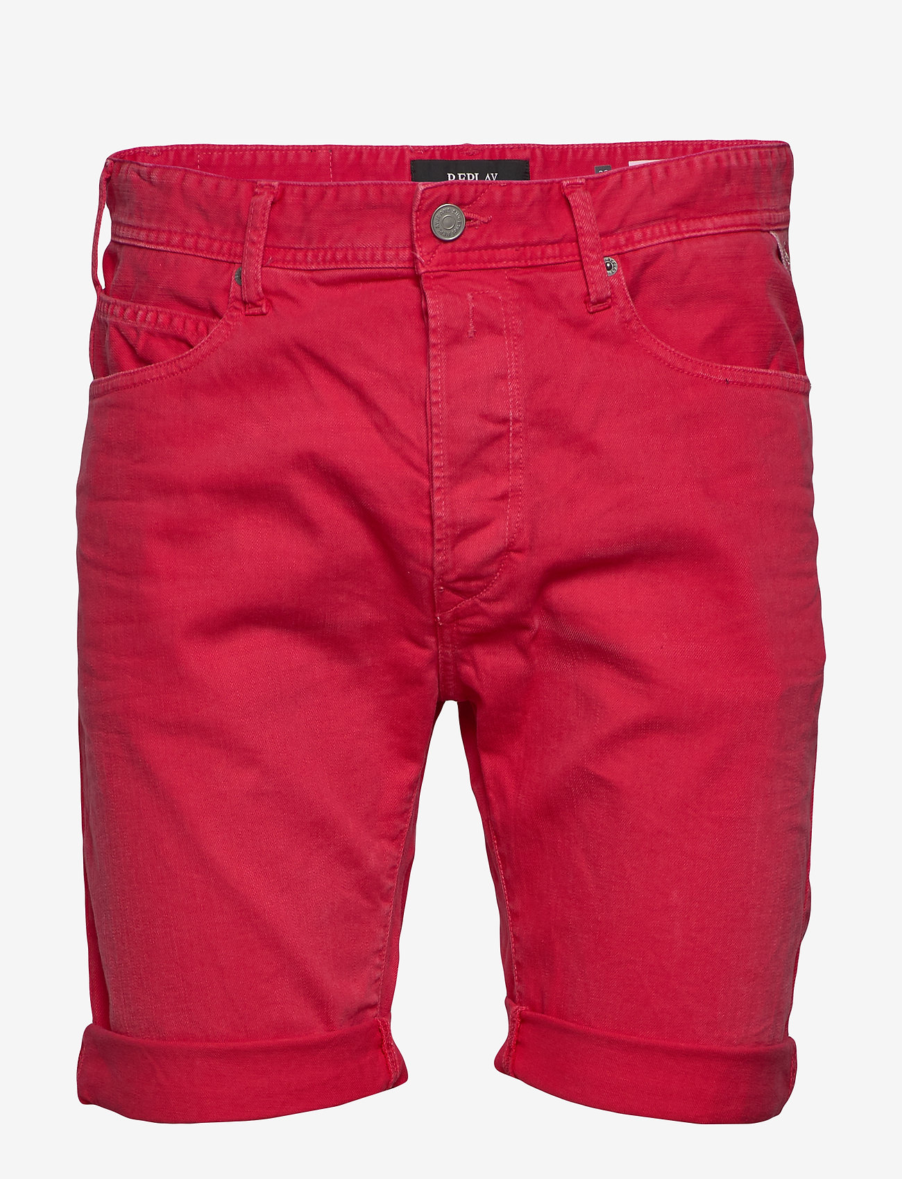 Replay - RBJ.901 SHORT - denim shorts - deep red - 0