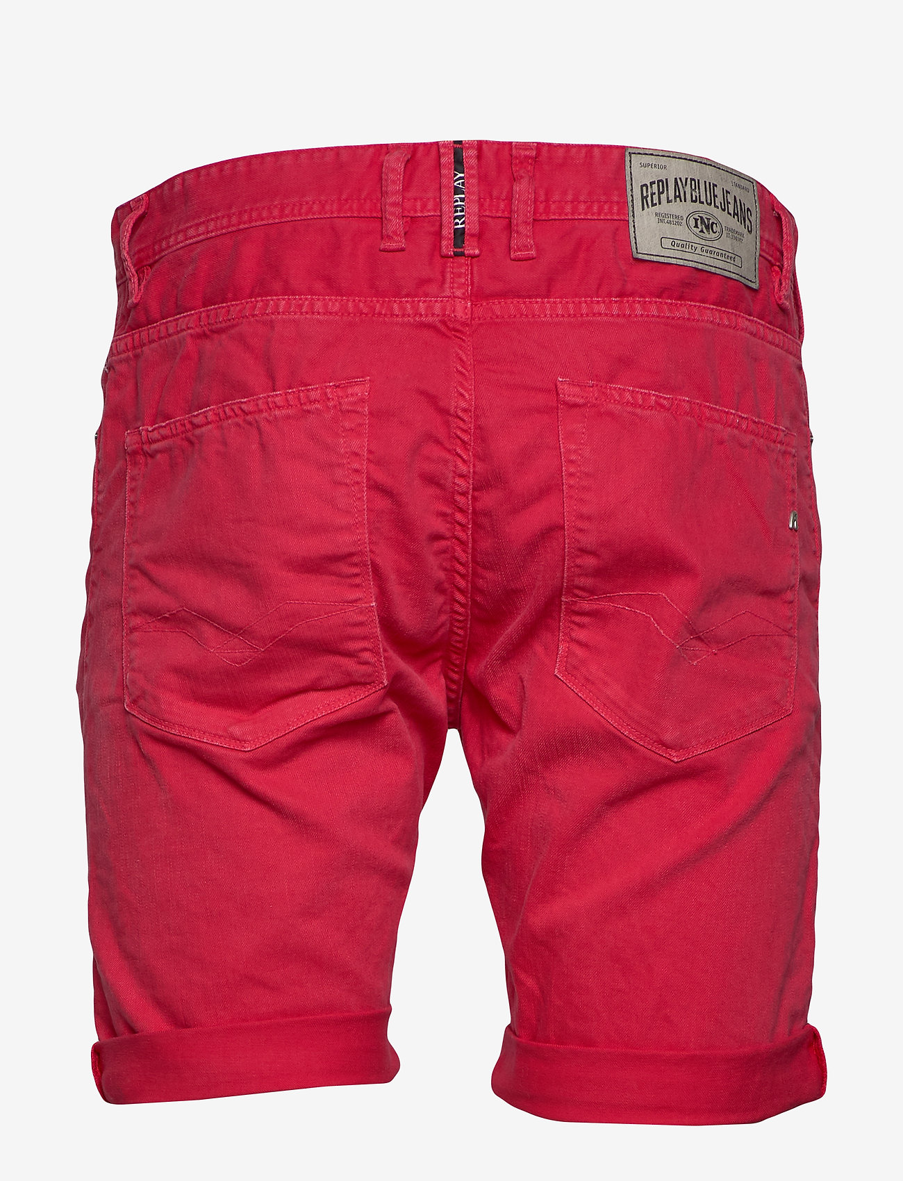 Replay - RBJ.901 SHORT - denim shorts - deep red - 1