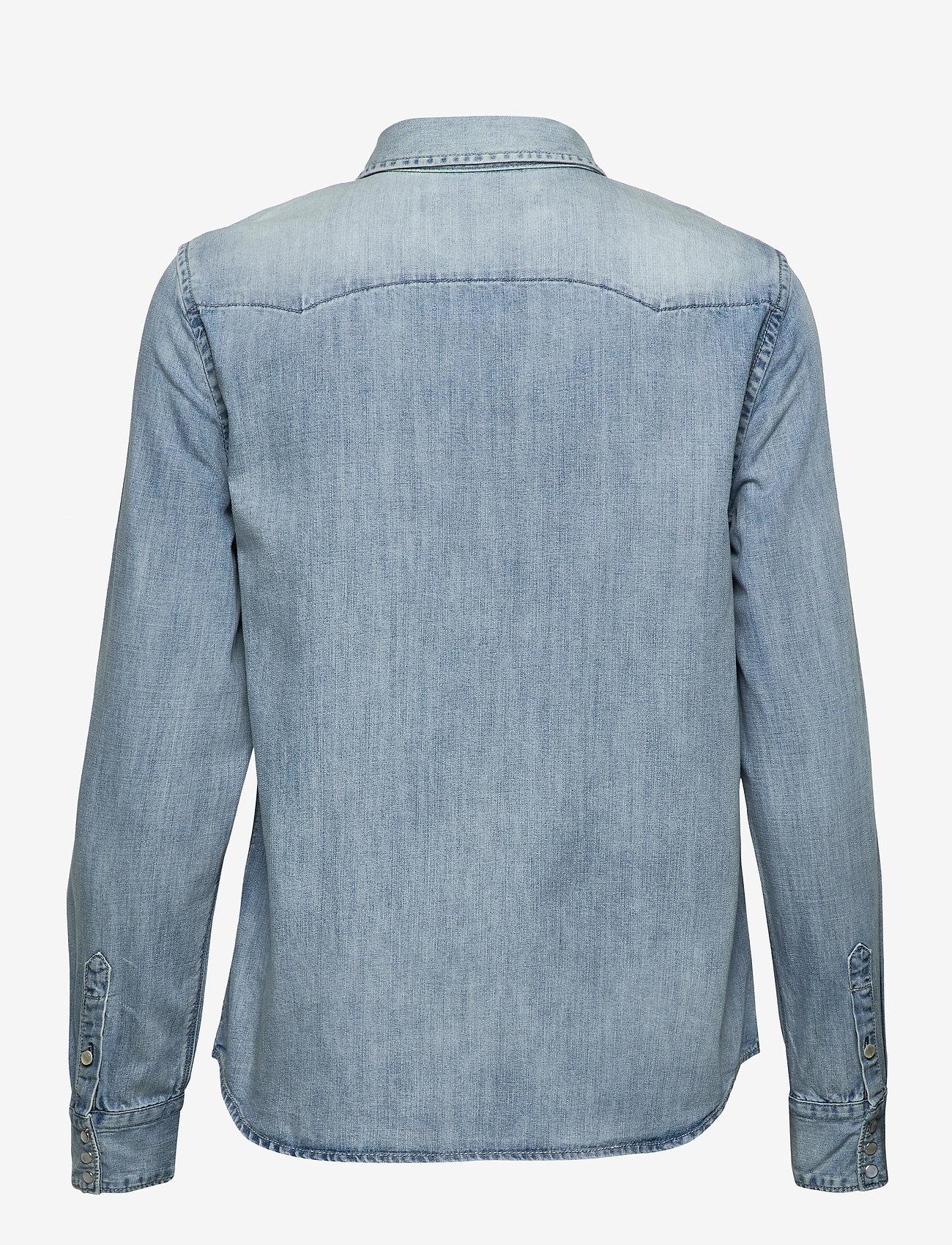 Replay - Shirt - chemises en jeans - light blue - 1