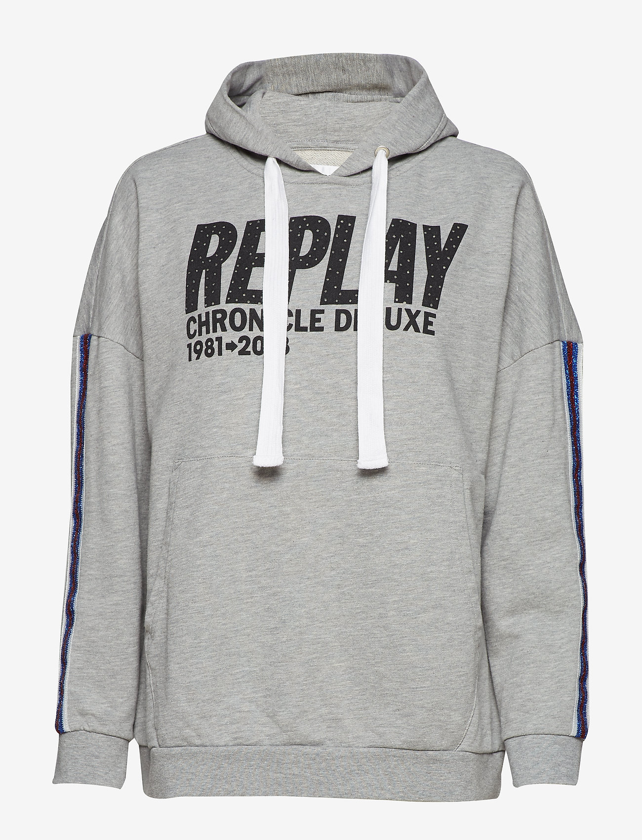 Replay - Sweatshirt - hoodies - light grey melange