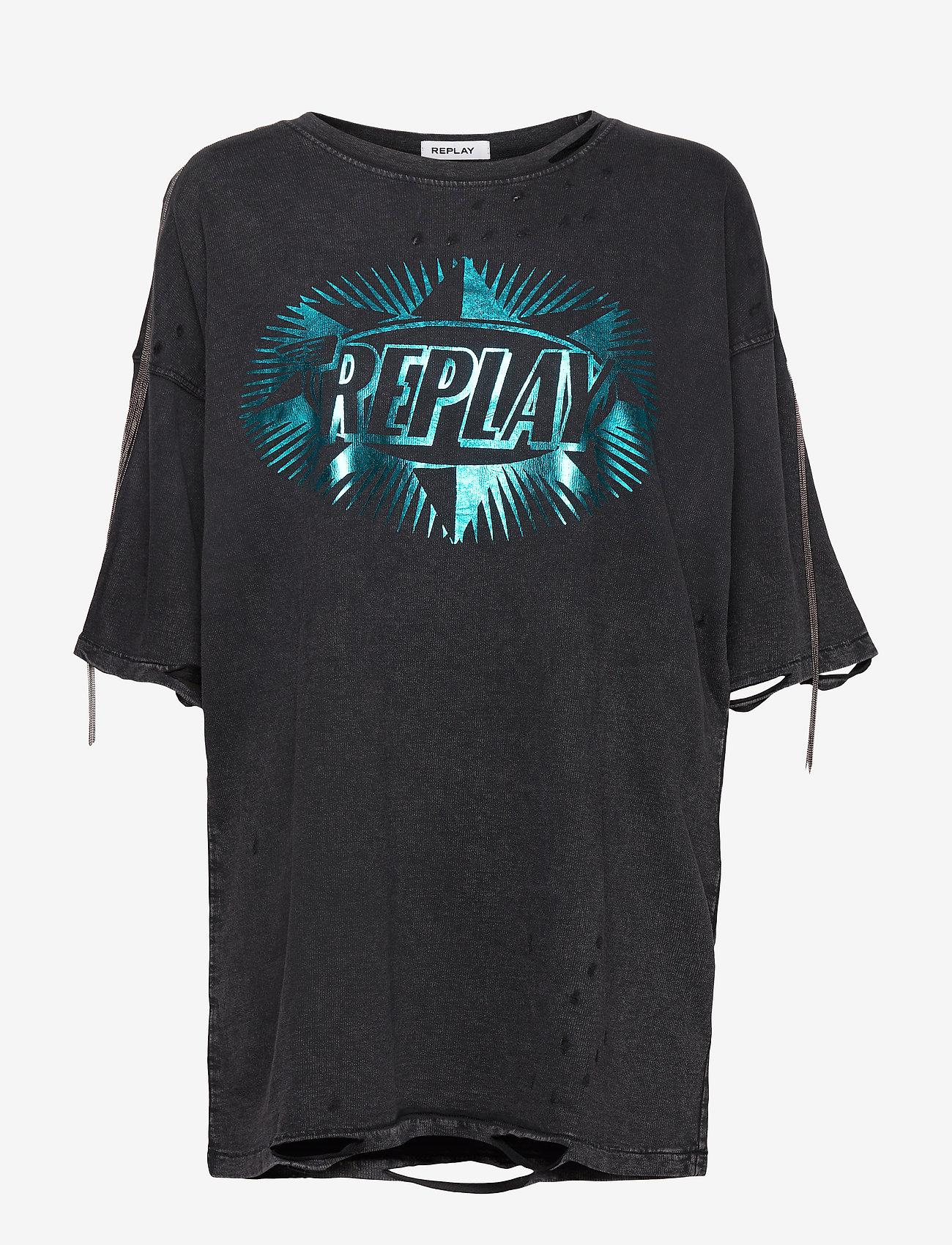 Replay - Jumper - t-shirts - blackboard - 0