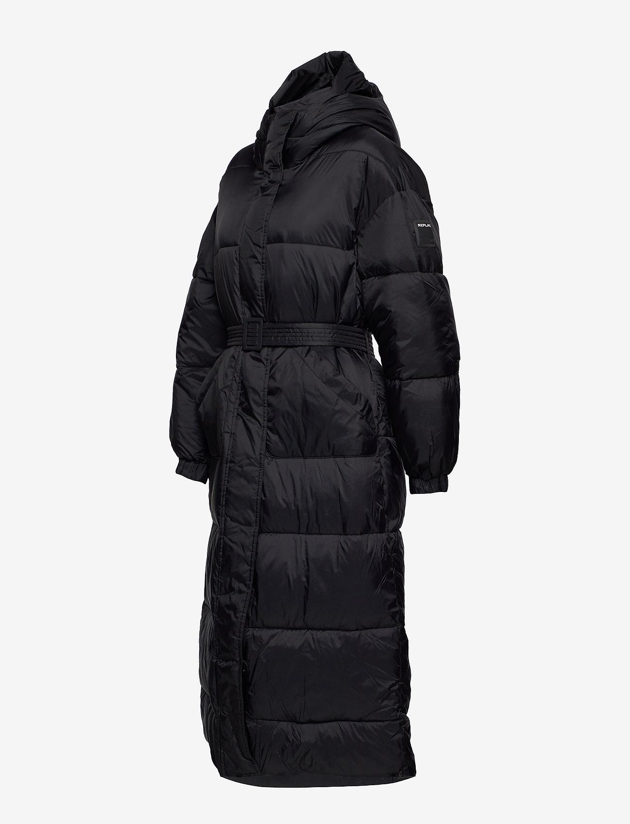 Replay Jacket - Kurtki i Płaszcze BLACK - Kobiety Odzież.