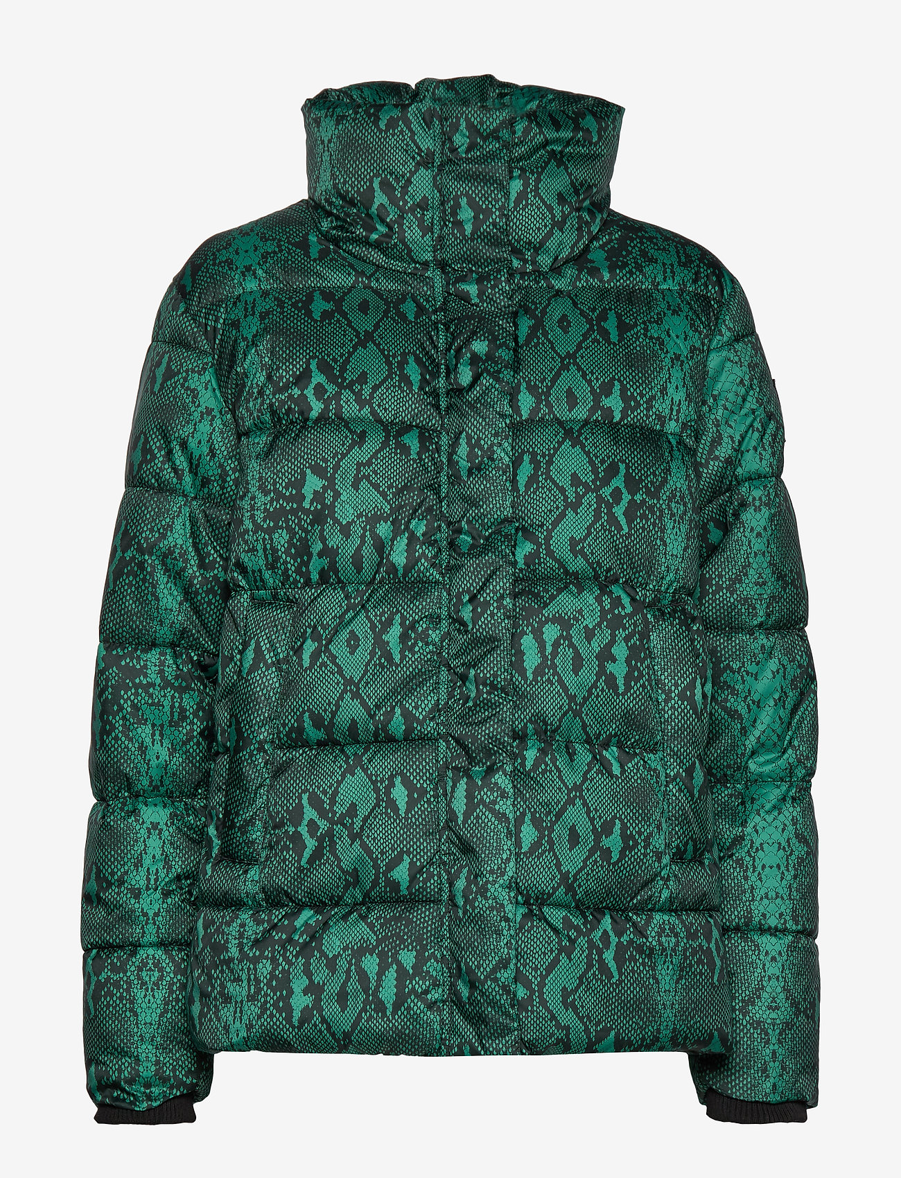 Replay Jacket - Jakker og frakker BLACK/GREEN SNAKE - Dametøj Særtilbud
