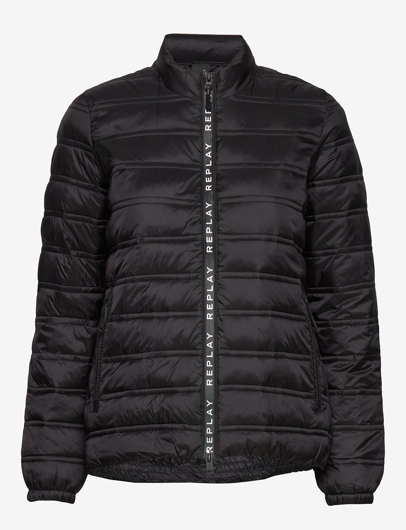 Jacket (Black) - Replay DDM9IP