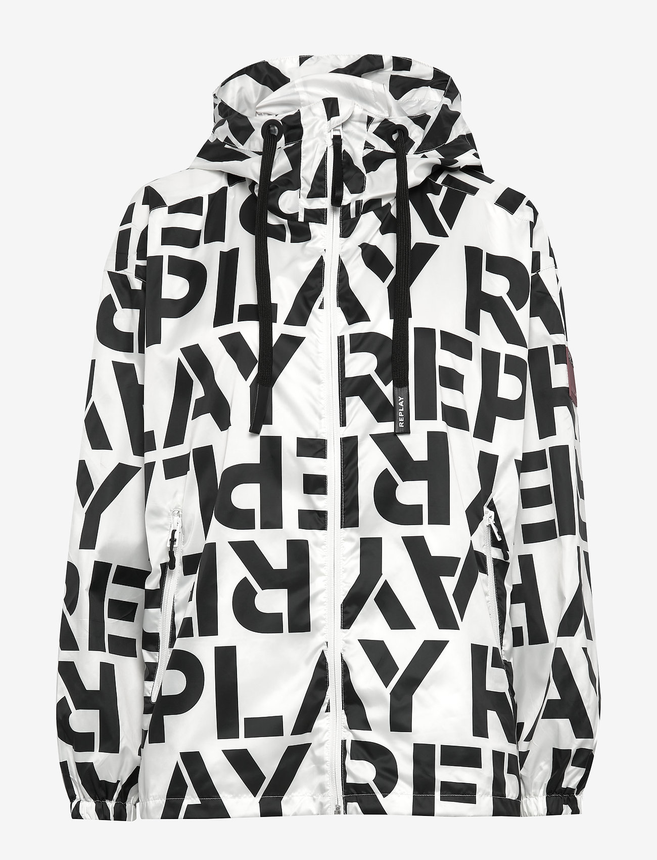 Jacket (Chalk&black Logo) (90.30 €) - Replay ELQMw3Q4