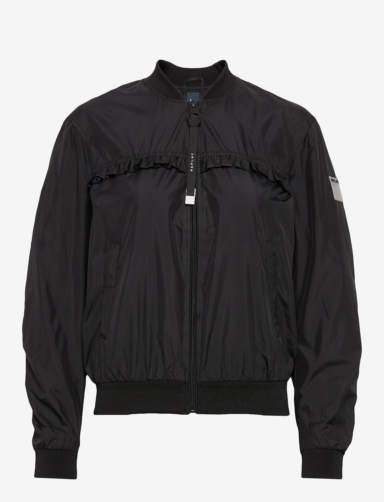 Replay - Jacket - bomber jakker - black - 0