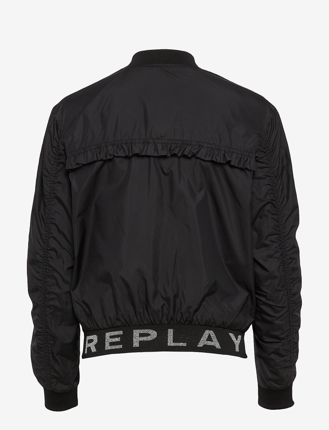 Replay - Jacket - bomber jakker - black - 1
