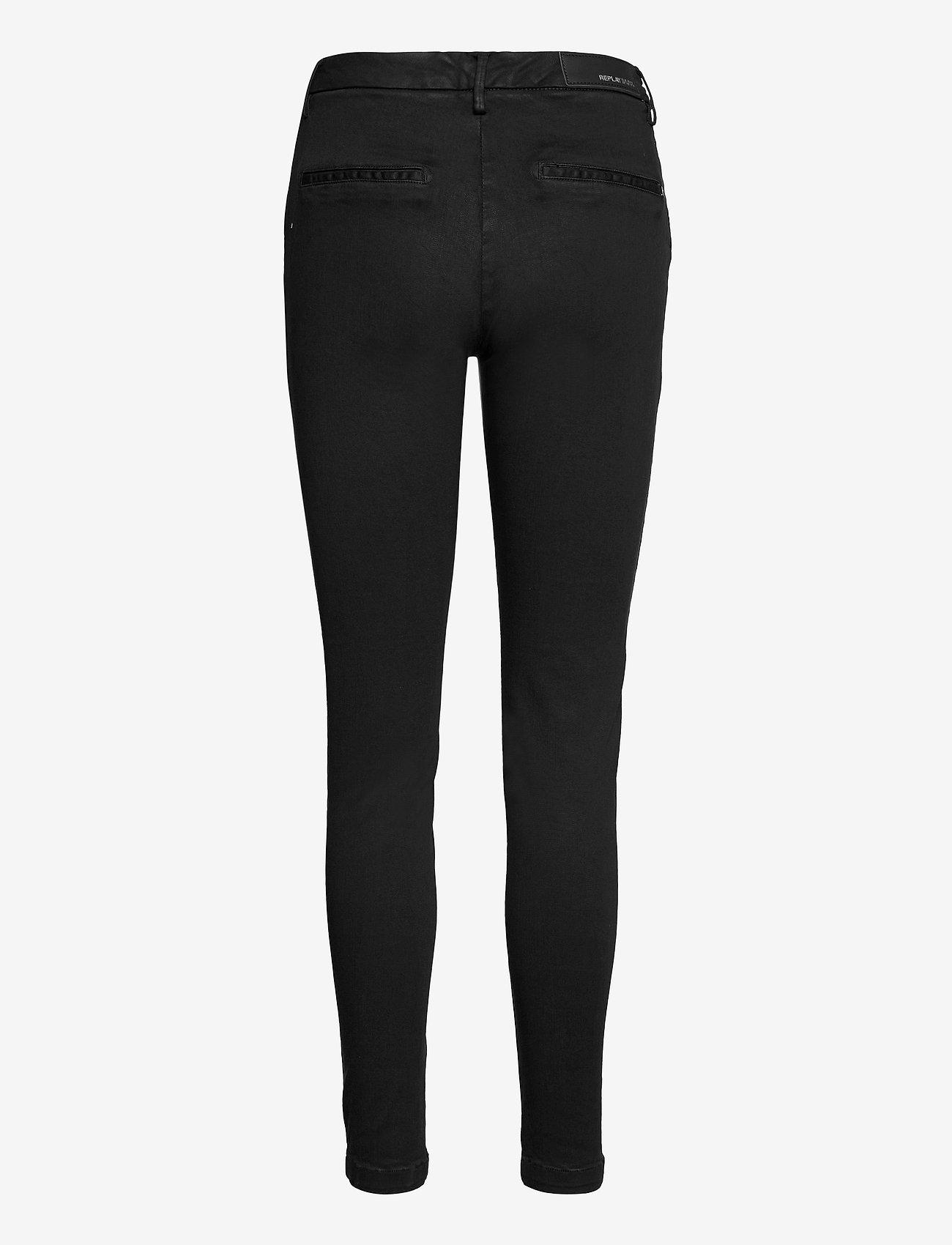 Replay - LYSA HYPERFLEX - slim jeans - black. - 1