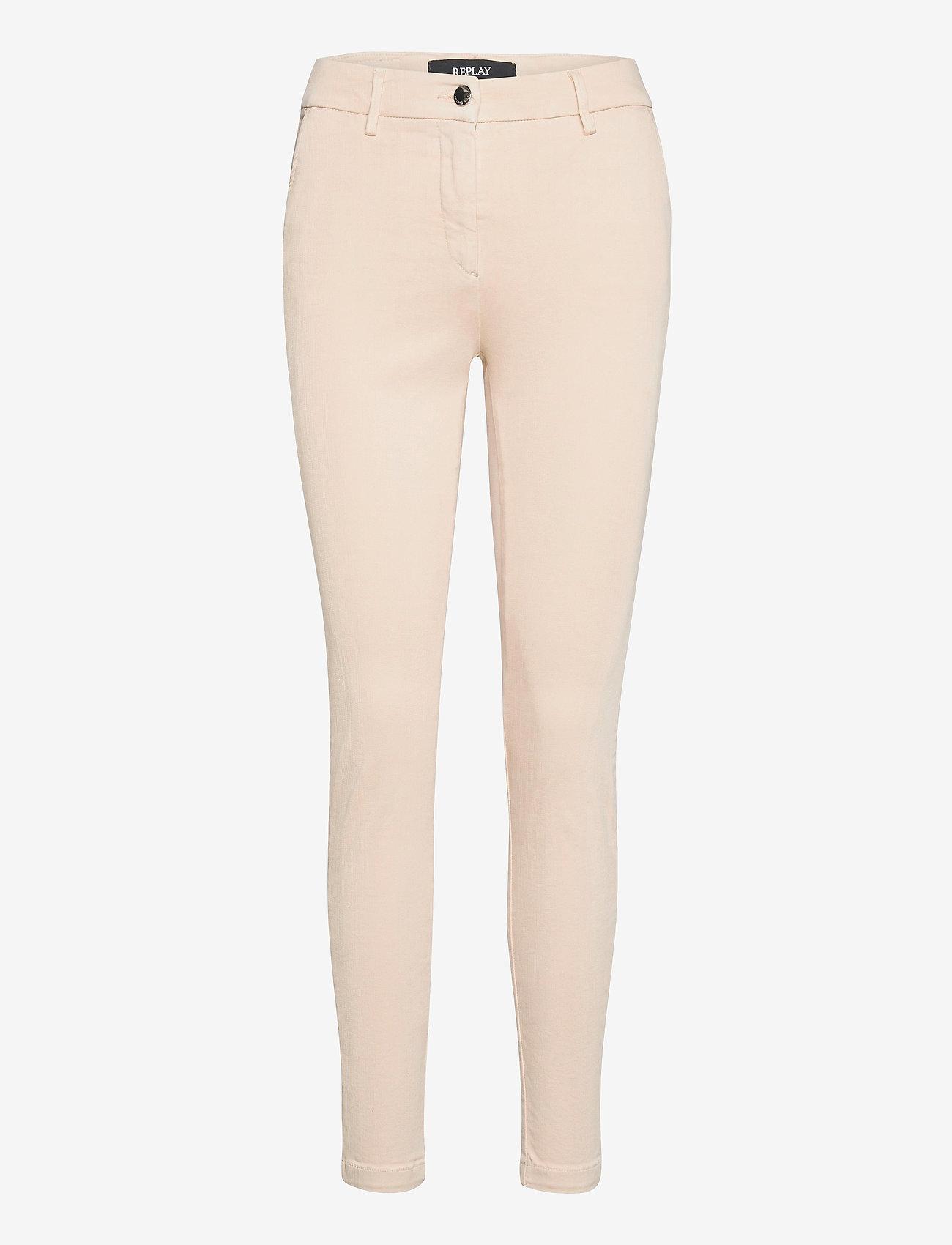 Replay - LYSA HYPERFLEX - slim jeans - cream - 0
