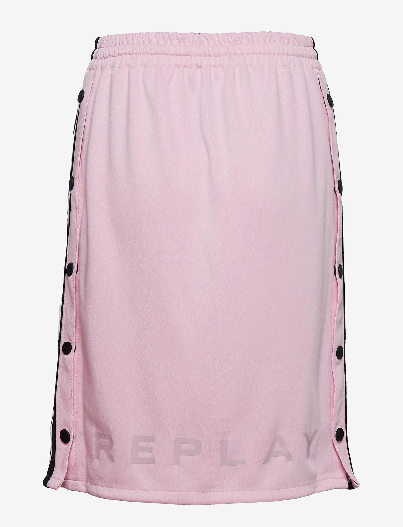 Replay - Skirt - midi skirts - comfit pink