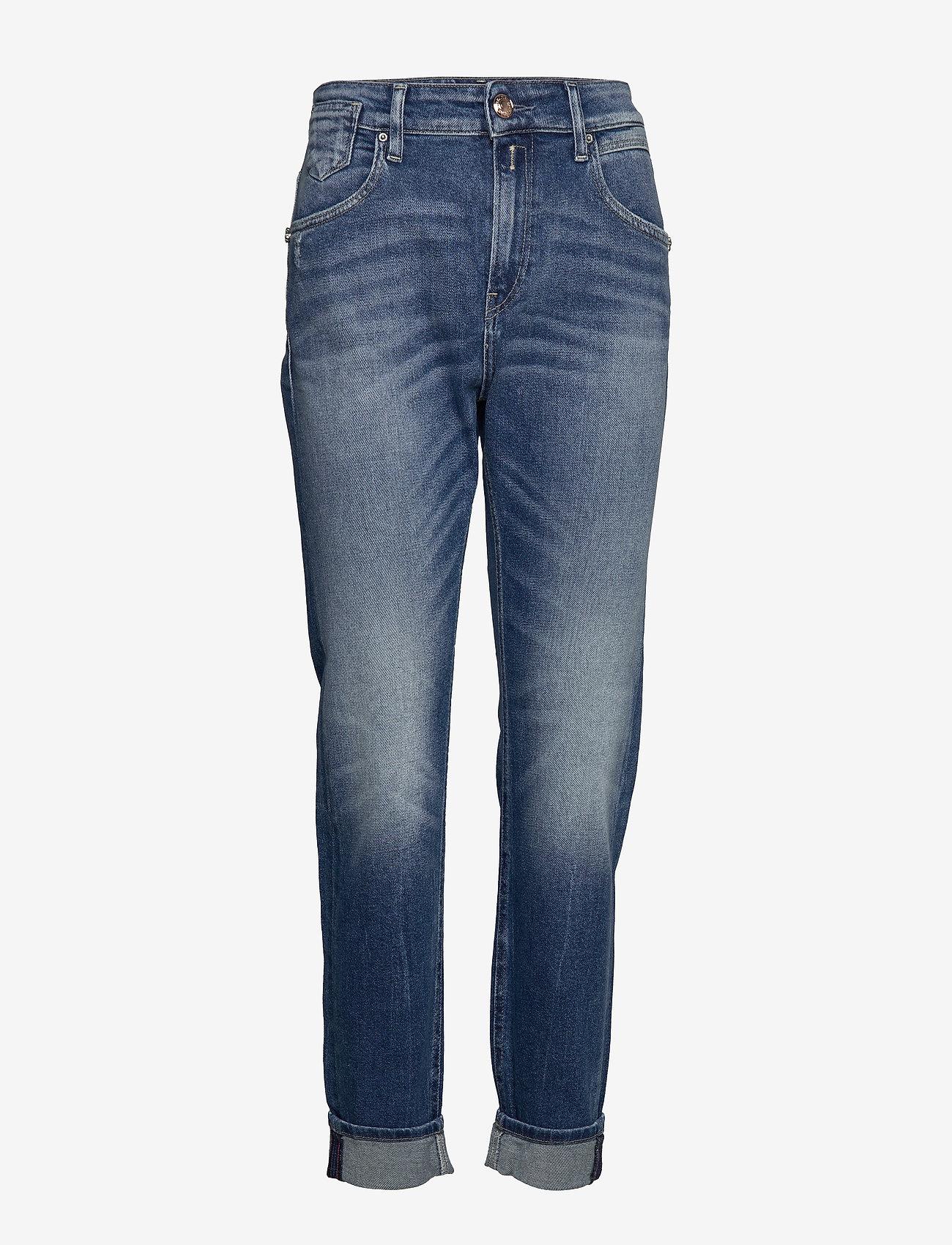 Replay - Shirt - dżinsy chłopaka - medium blue - 0