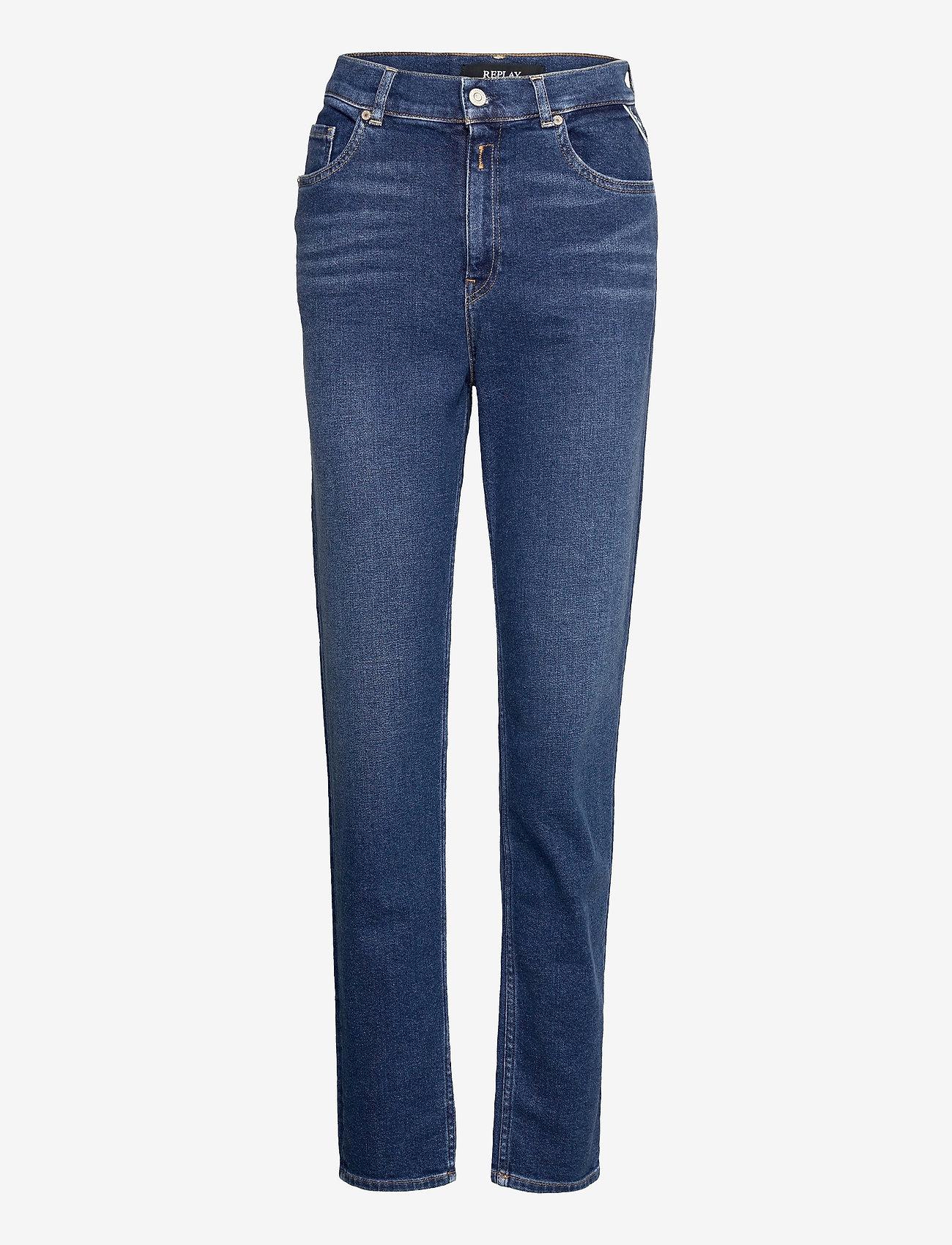 Replay - KILEY Rose Label Pack - slim jeans - medium blue - 0
