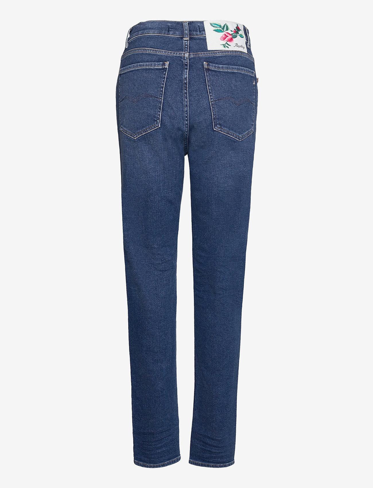 Replay - KILEY Rose Label Pack - slim jeans - medium blue - 1
