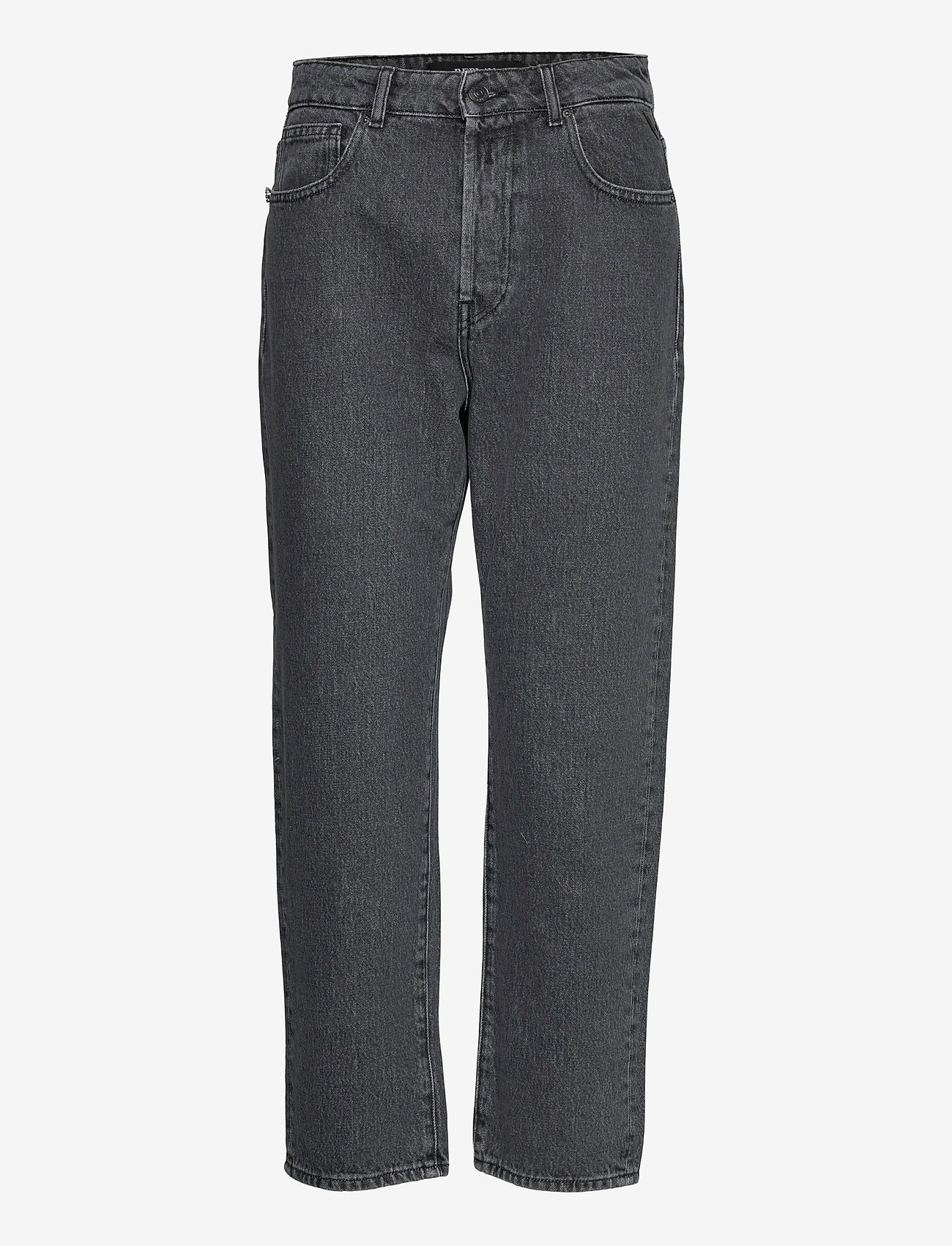 Replay - TYNA - mom jeans - dark grey - 0
