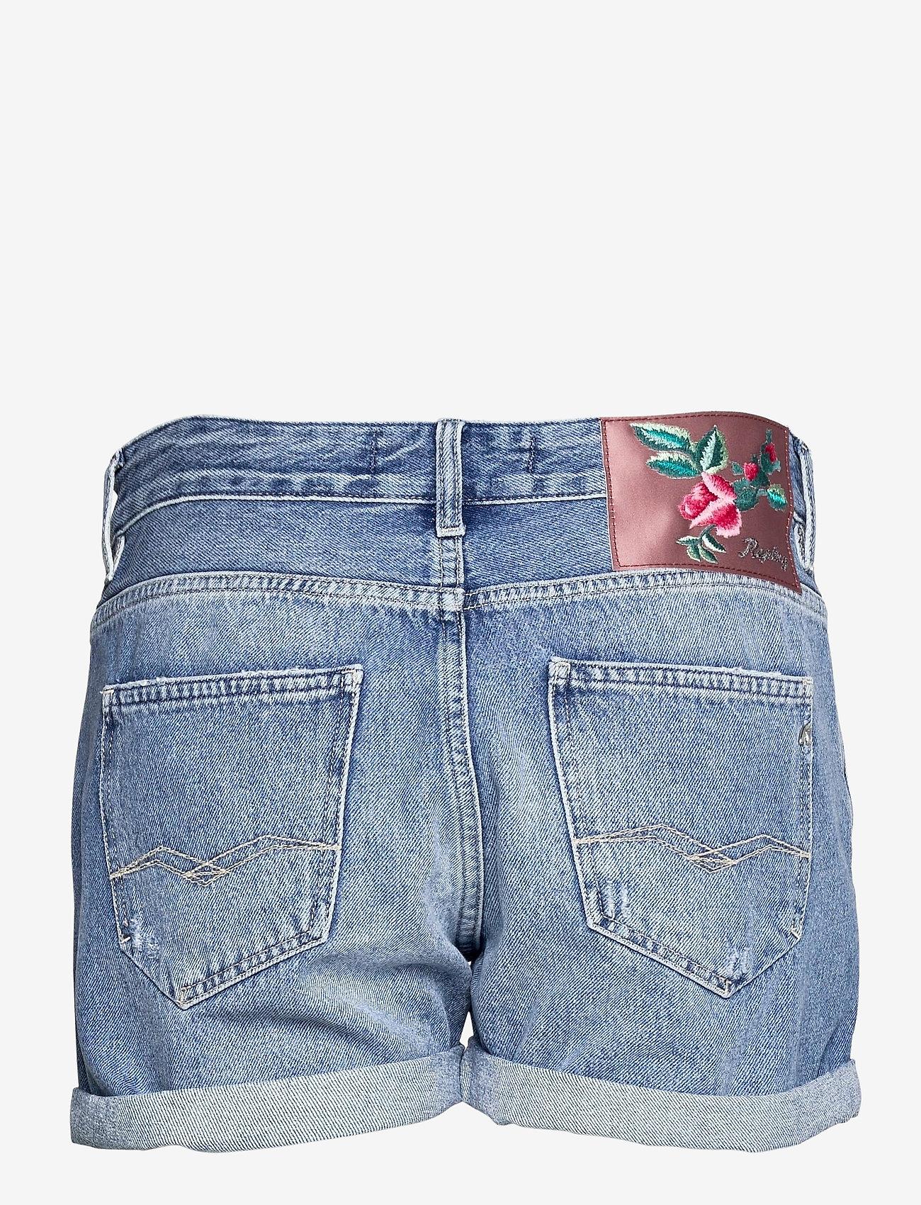 Replay - ANYTA Rose Label Pack - jeansshorts - medium blue - 1