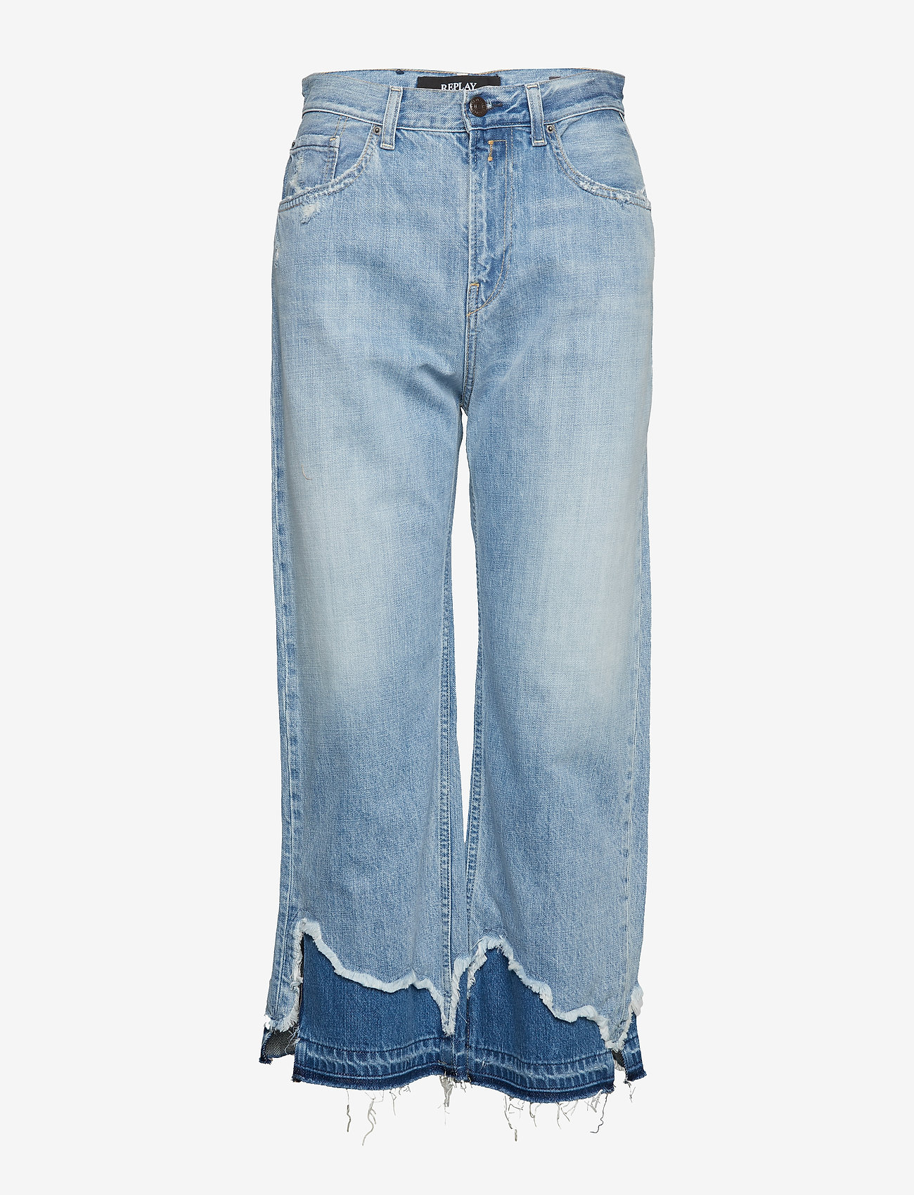 Replay - AGATHE - wide leg jeans - light blue