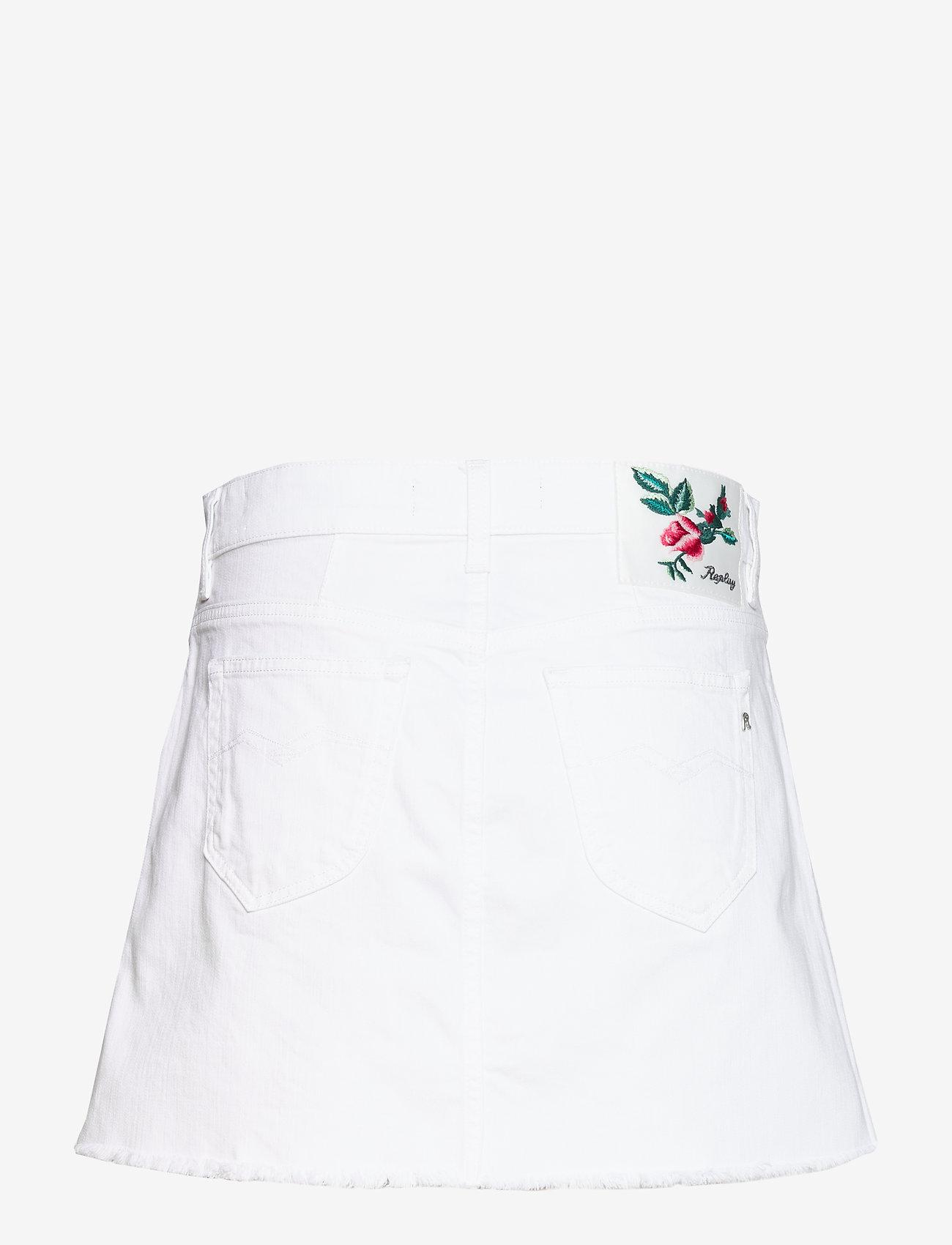 Replay - Dress - chinos - optical white - 1