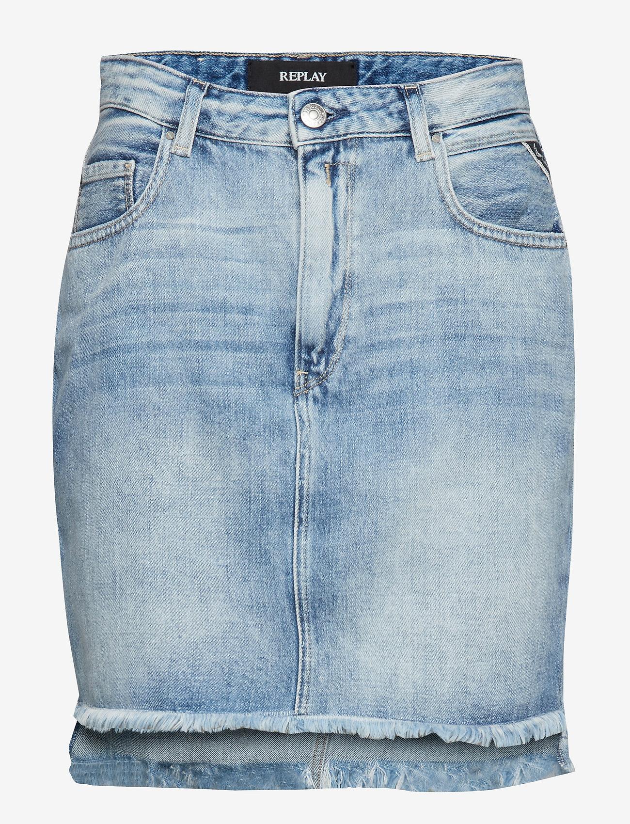 Replay - Skirt - short skirts - light blue