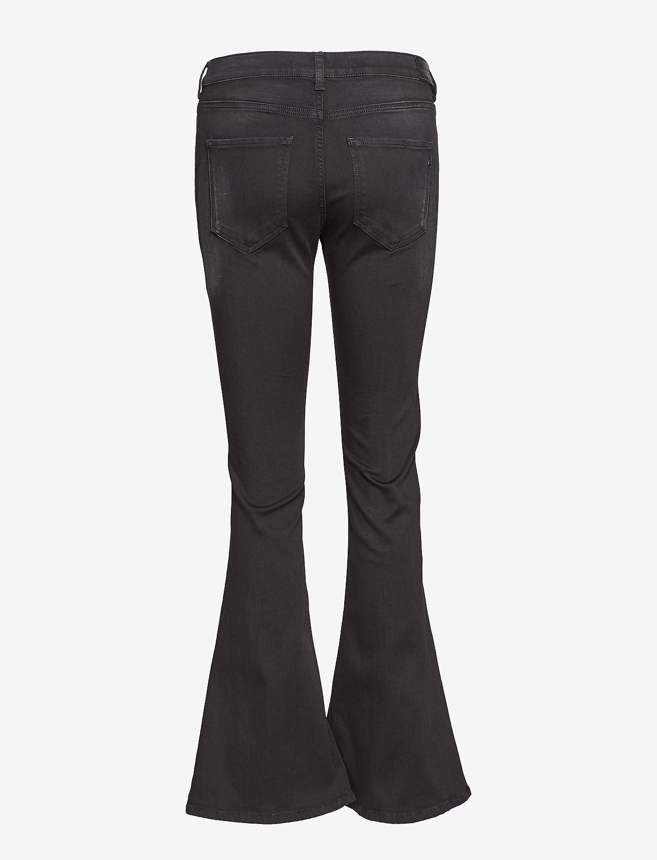 Replay - STELLA FLARE - flared jeans - black
