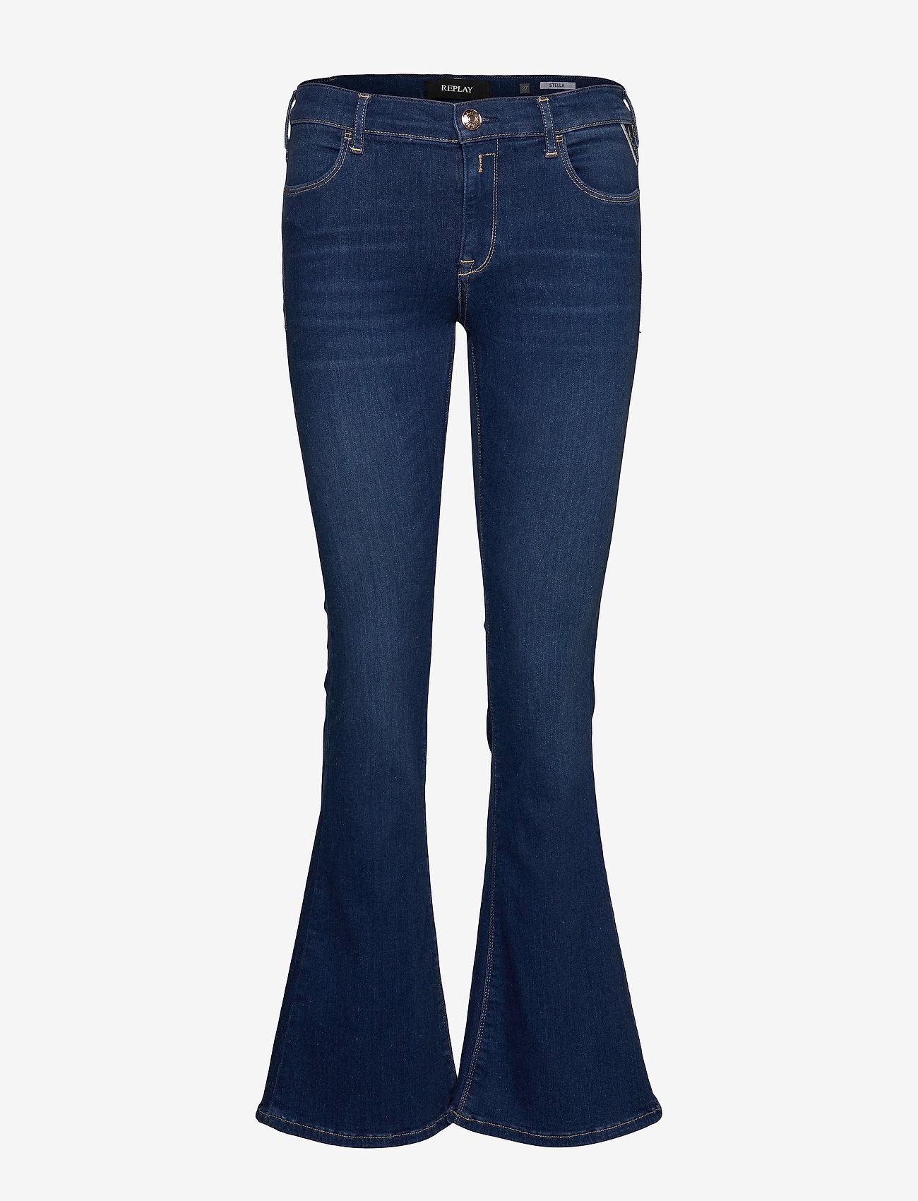 Replay - Shorts - schlaghosen - medium blue - 0