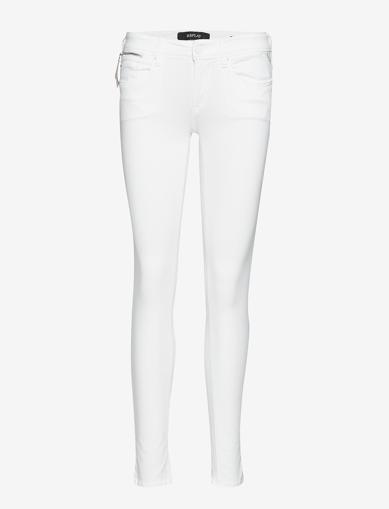 Replay - LUZ COIN ZIP - skinny jeans - white