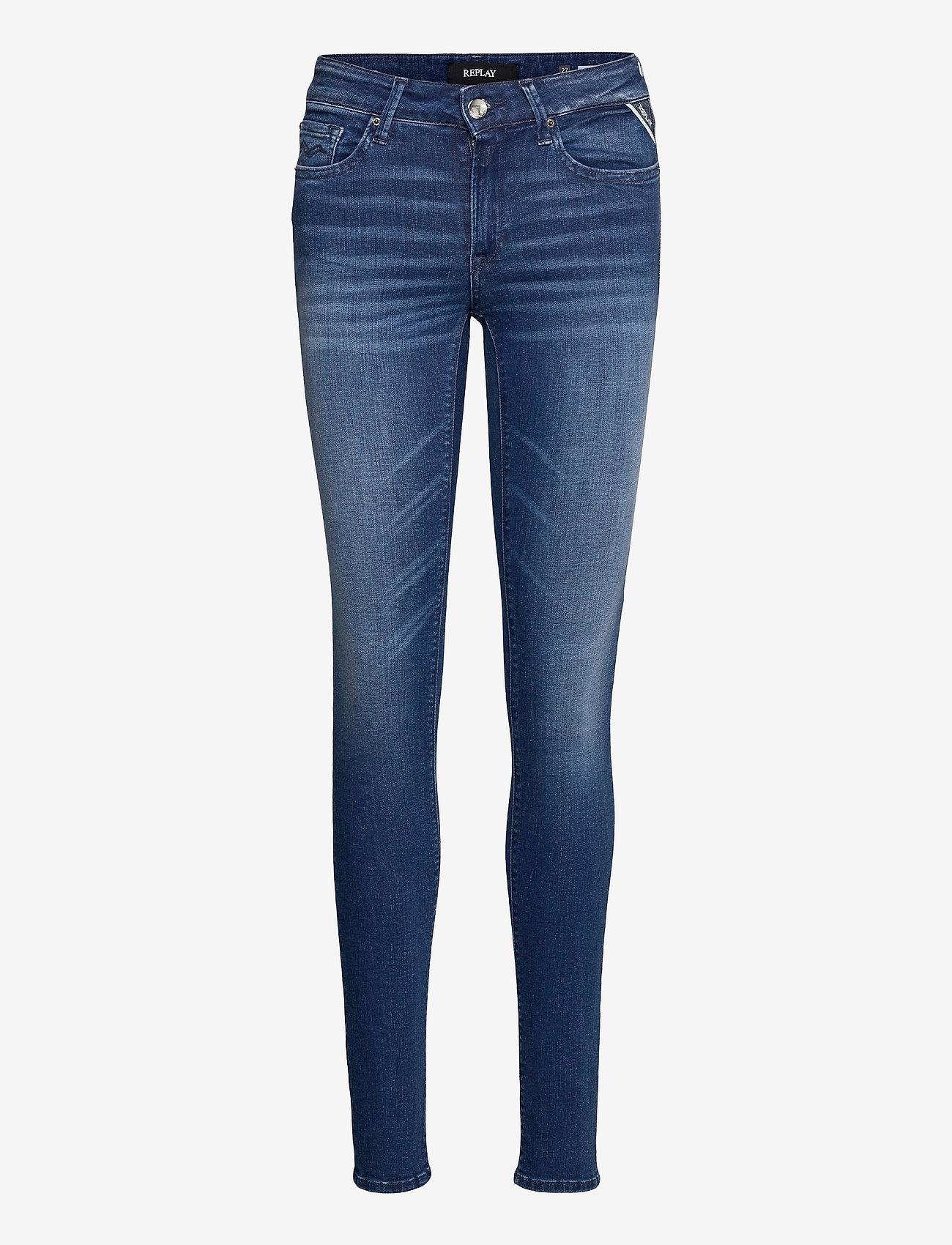 Replay - NEW LUZ - slim jeans - medium blue - 0