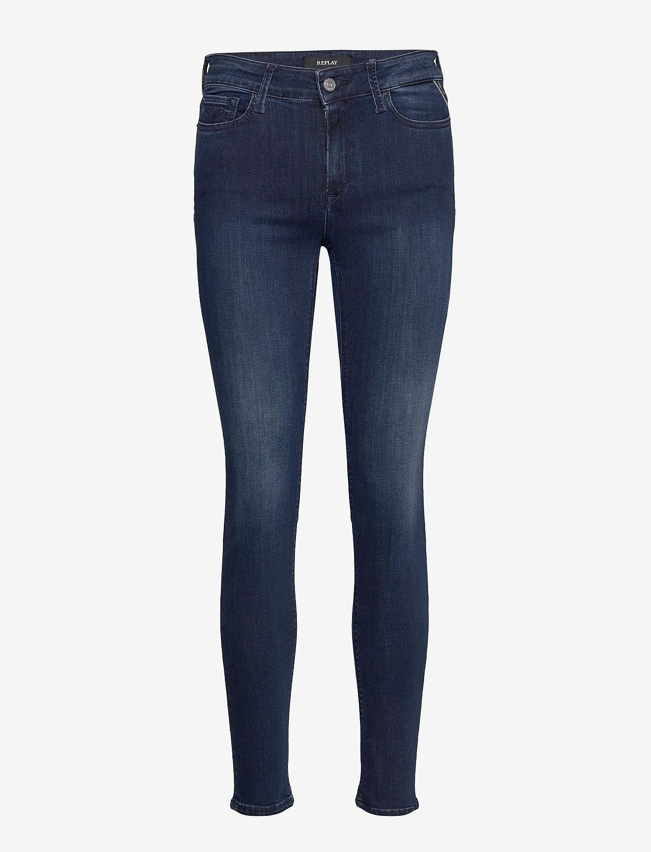 Replay - LUZIEN Trousers 99 Denim - slim jeans - dark blue - 0