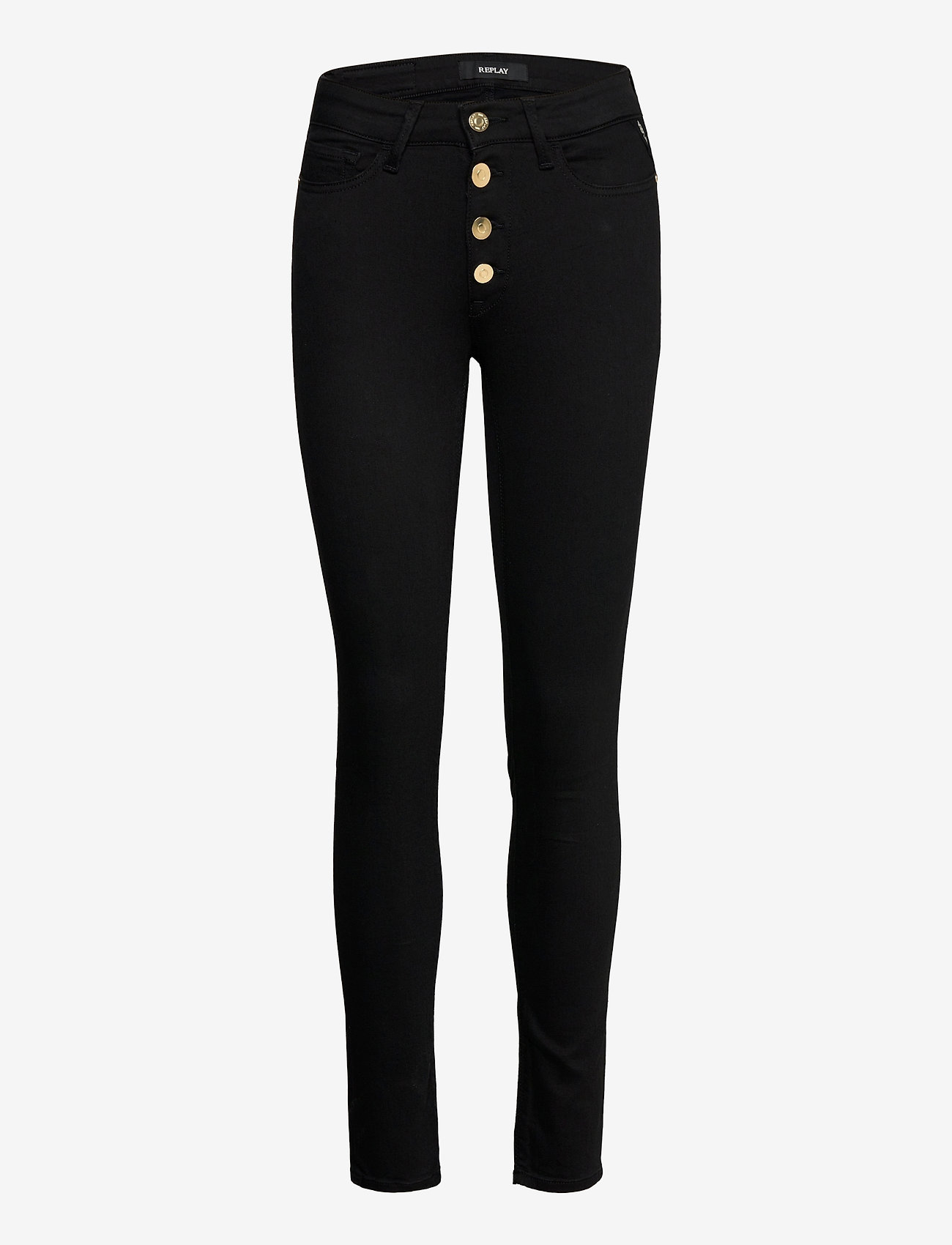 Replay - LUZIEN - slim jeans - black - 0