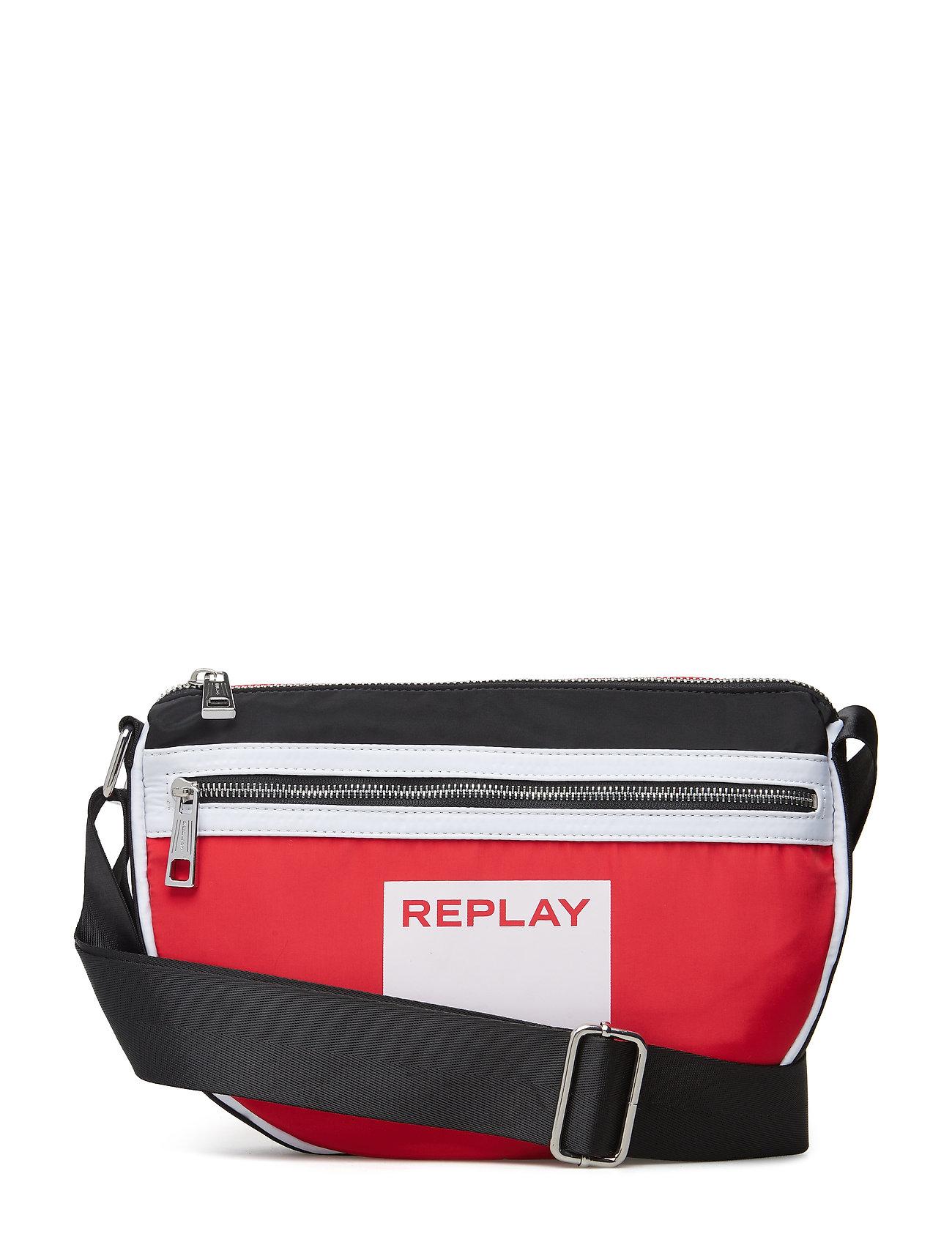 Replay Bag - BLOOD RED -BLACK-OPTICAL WHITE
