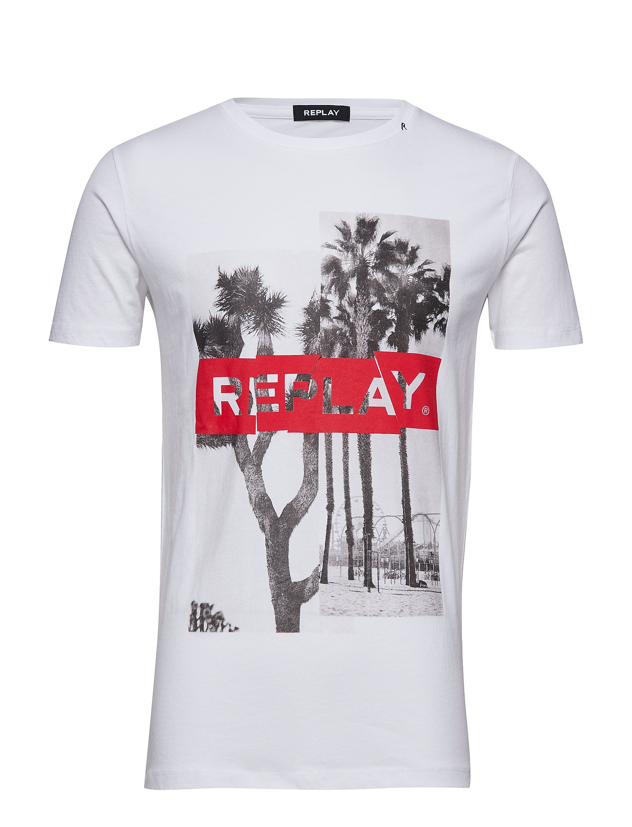 7d56a635277 Tshirt (White) (£44) - Replay -