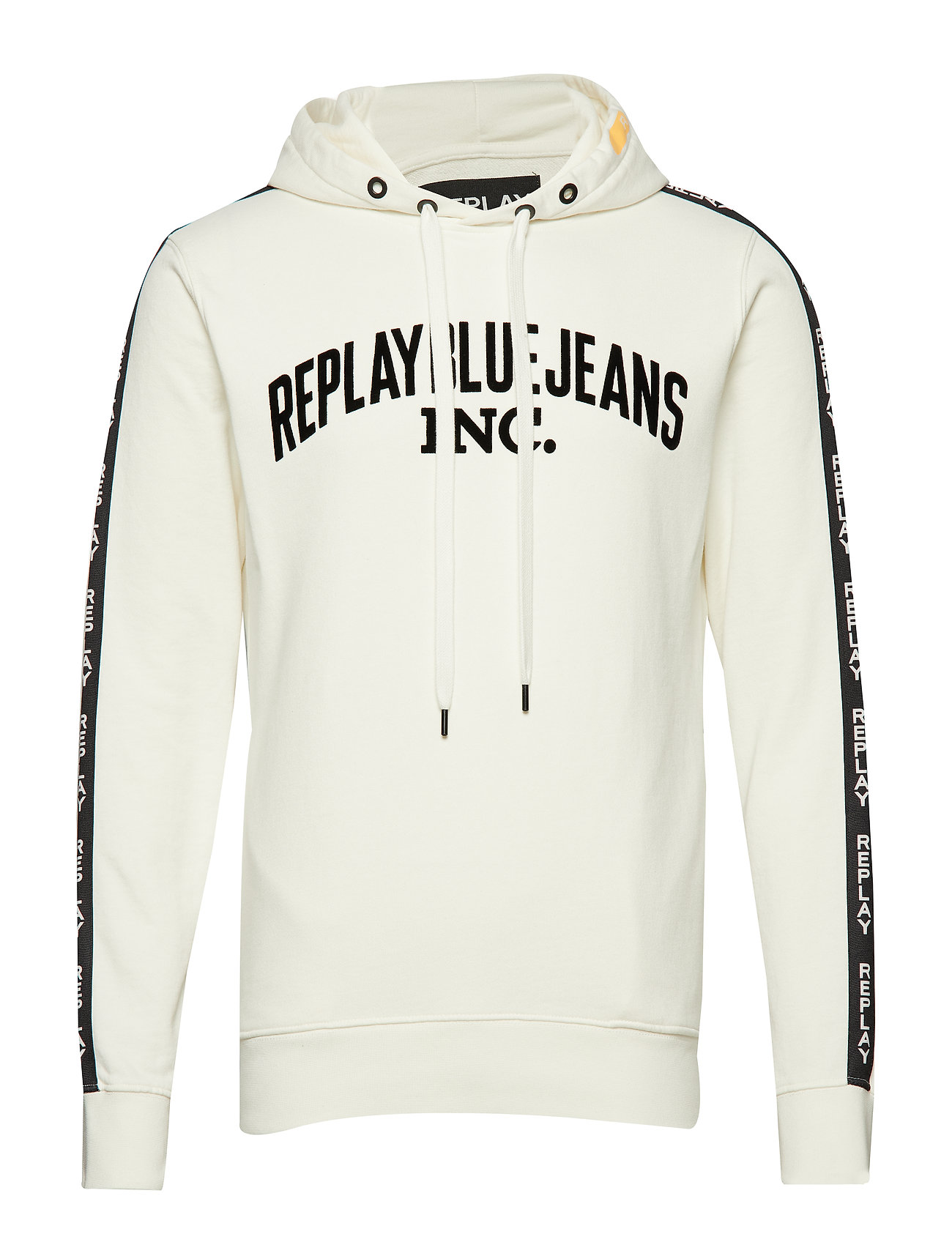 Replay COTTON FLEECE - OFF WHITE