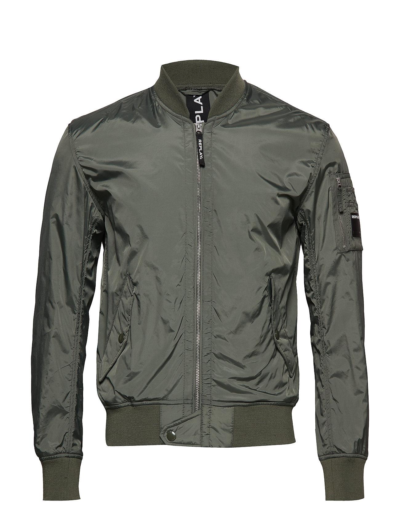 Replay Jacket - SAGE GREEN