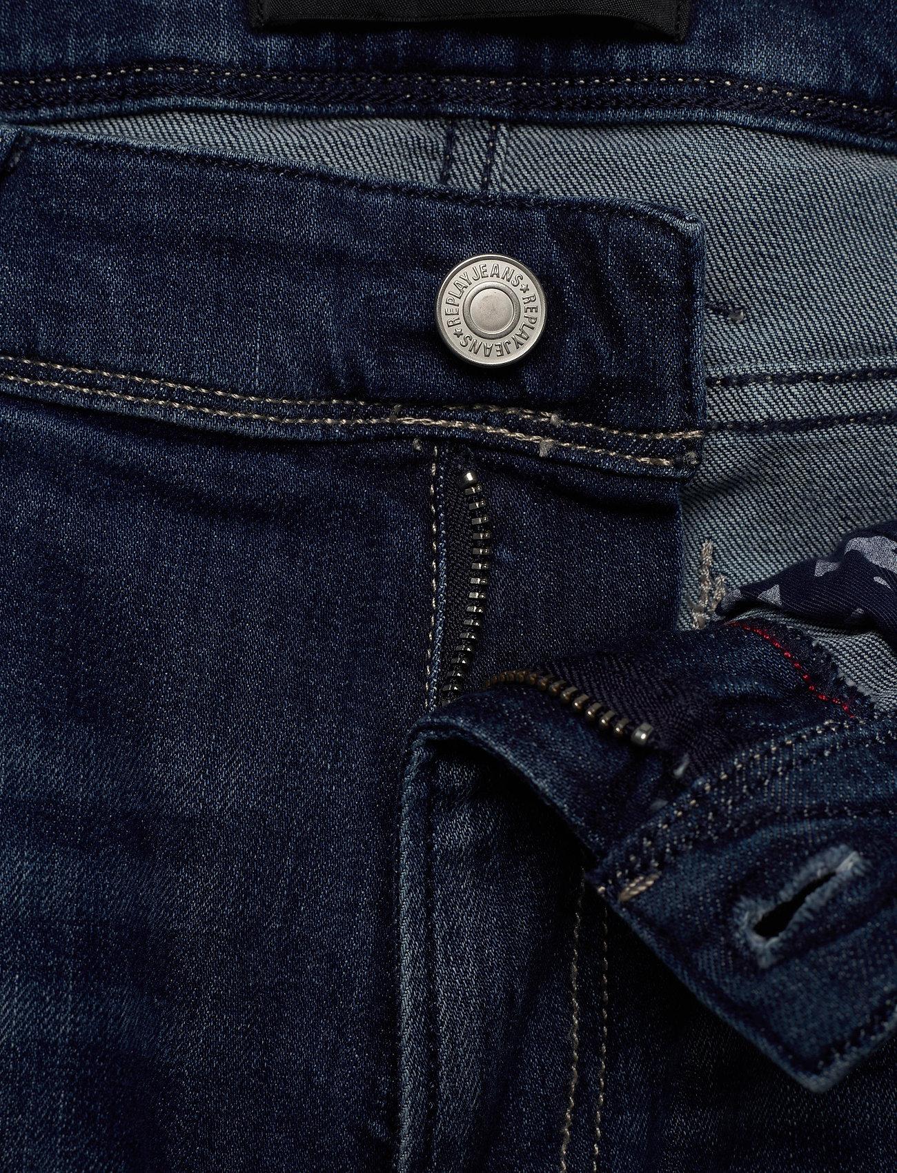 Replay ANBASS - Jeans MEDIUM BLUE - Menn Klær