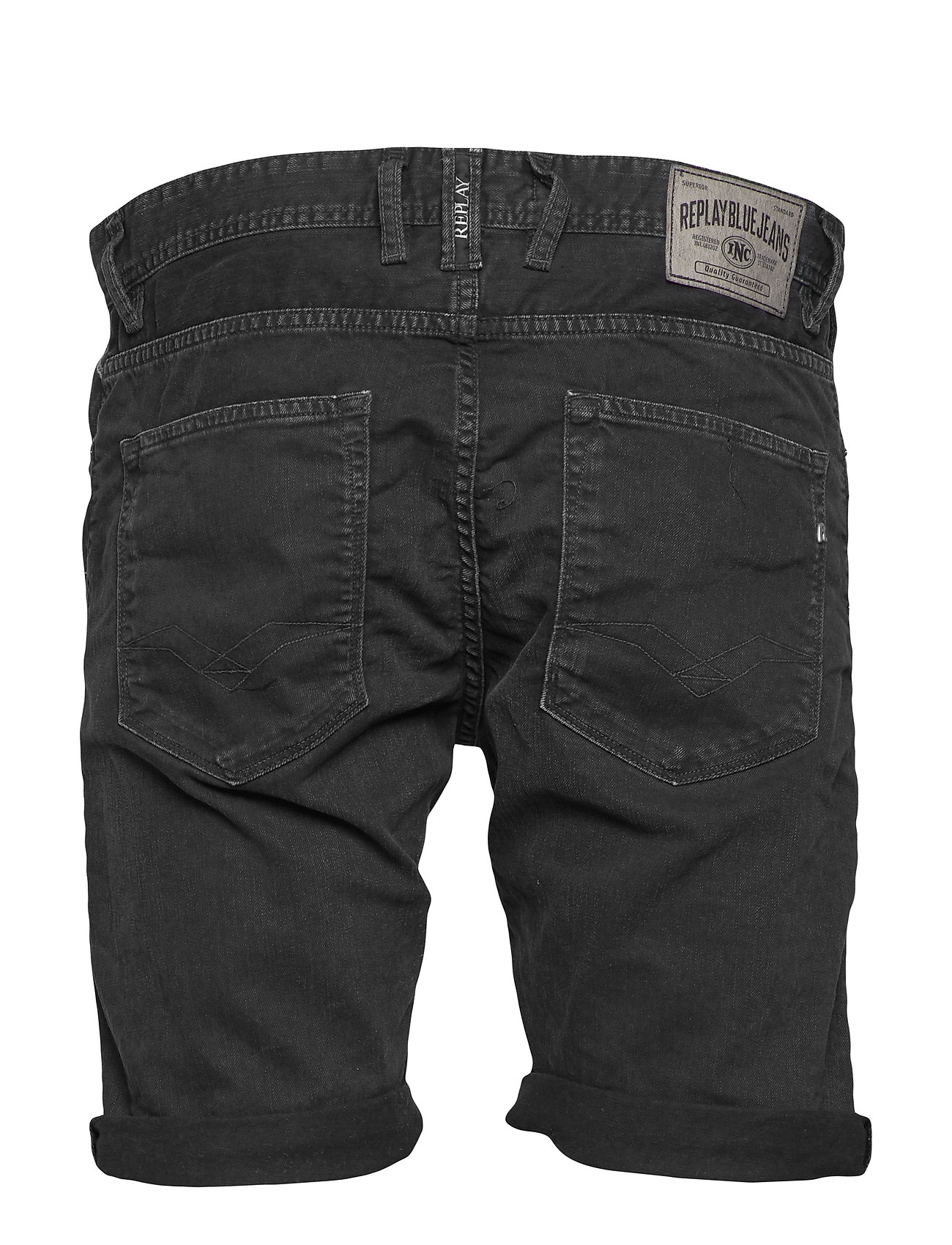 Replay - RBJ.901 SHORT - denim shorts - black delavÈ - 1