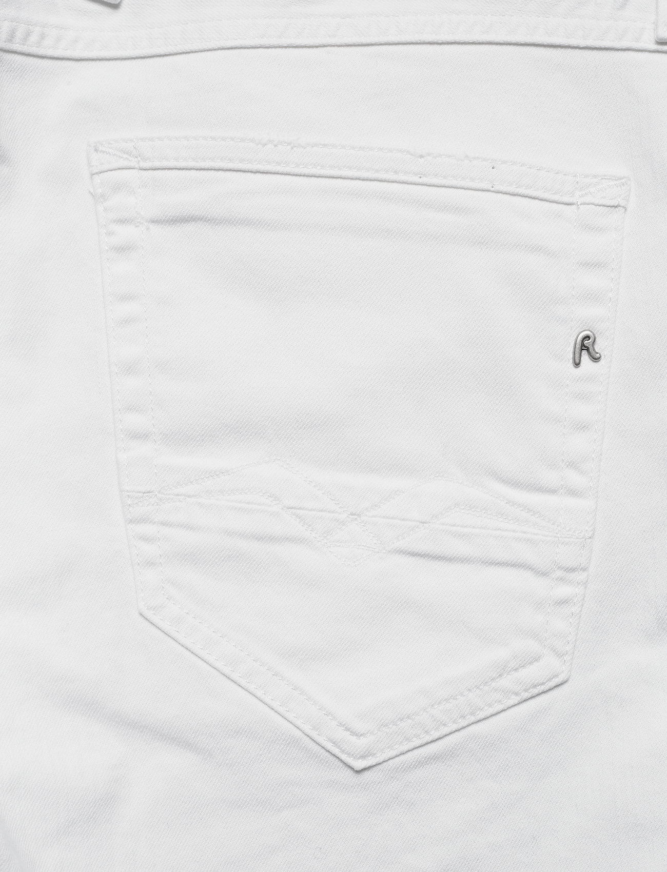 Replay Anbass Coin Zip - Jeans White