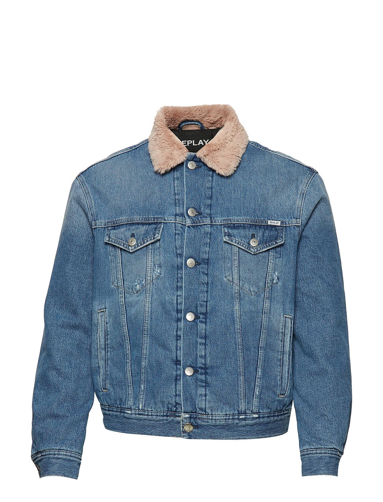 Replay Jacket - MEDIUM BLUE