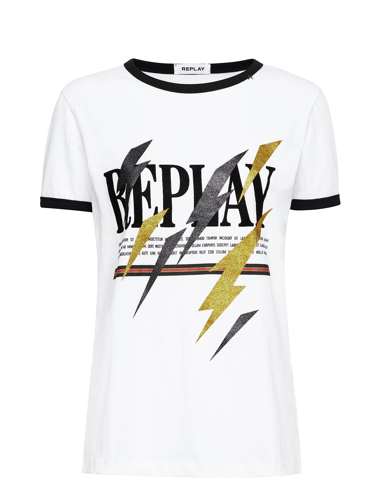 Replay T-Shirt - OPTICAL WHITE