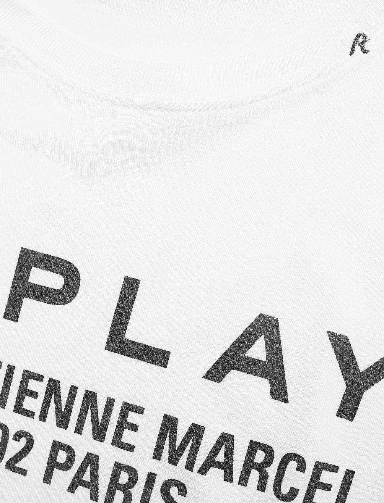 Replay T-Shirt - T-shirty i zopy OPTICAL WHITE - Kobiety Odzież.