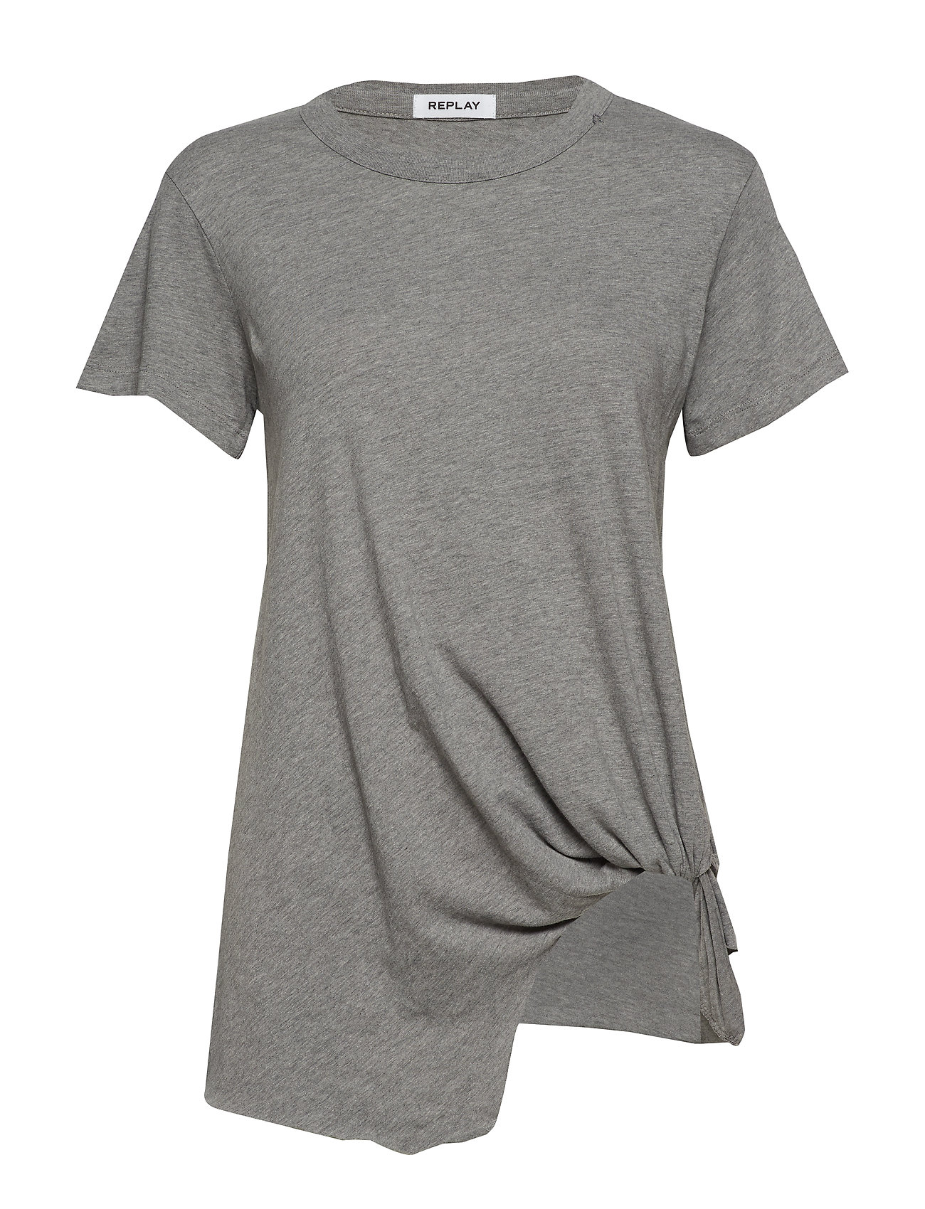 Replay T-Shirt - MEDIUM GREY MELANGE