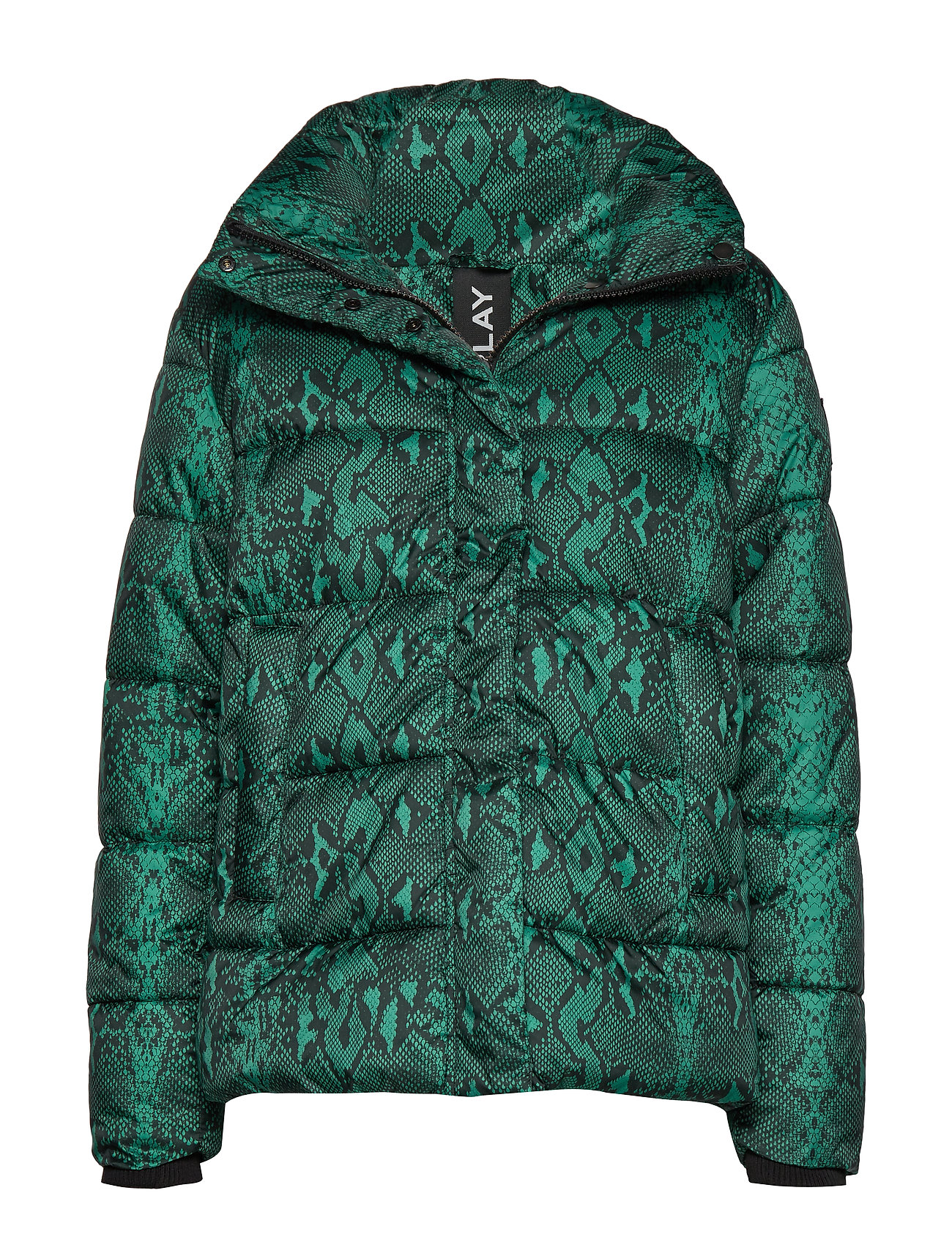 Replay Jacket - BLACK/GREEN SNAKE