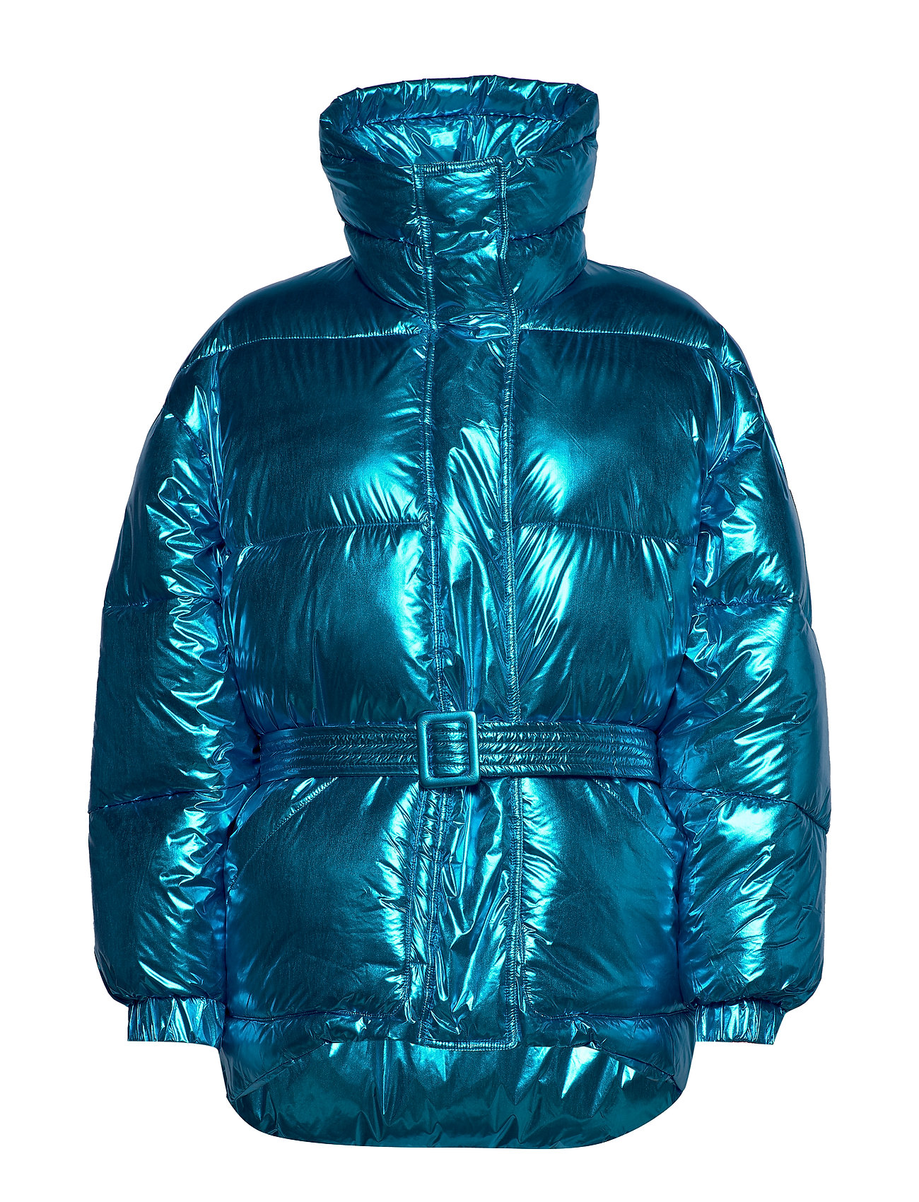 Replay Jacket - LIGHT BLUE METALIZED