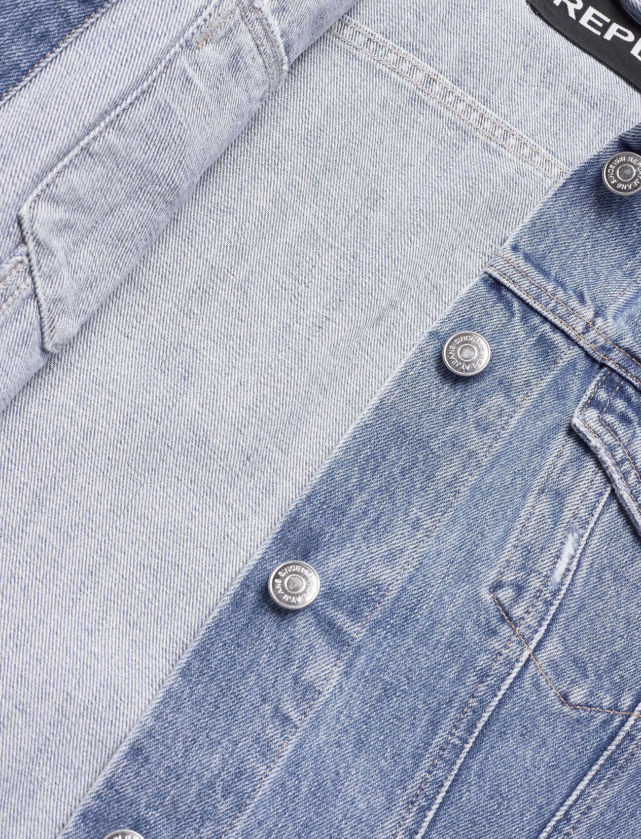 Replay Jacket - Kurtki i Płaszcze MEDIUM BLUE - Kobiety Odzież.