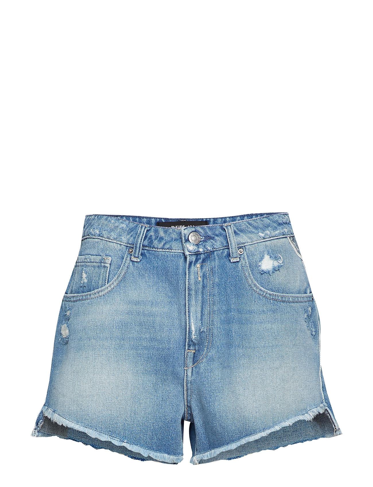 Replay Denim Shorts - MEDIUM BLUE