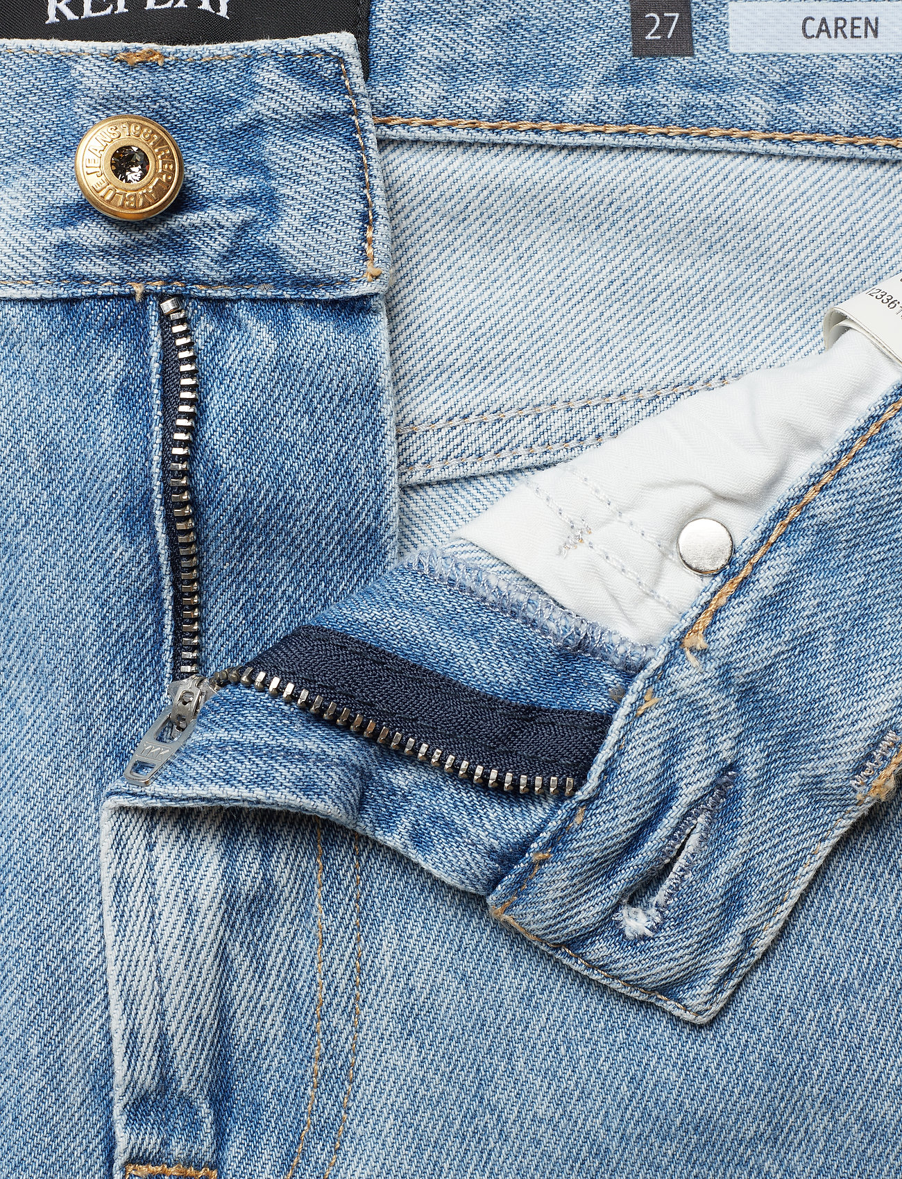 Replay CAREN - Jeans LIGHT BLUE - Dametøj Særtilbud