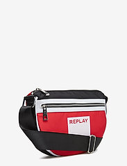 Replay - Bag - bum bags - blood red -black-optical white - 2