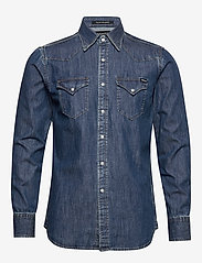 Replay - Shirt - podstawowe koszulki - medium blue - 0