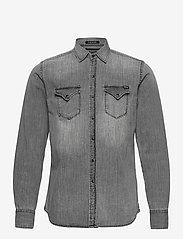 Replay - Shirt - peruspaitoja - medium grey - 0