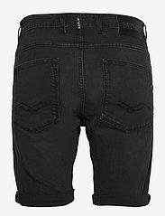 Replay - T-Shirt - denim shorts - dark grey - 1