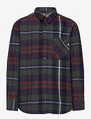 Replay - SHIRT - overhemden - yarn checked blue - 0