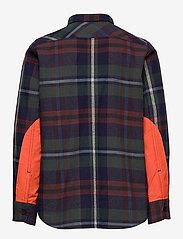 Replay - SHIRT - overhemden - yarn checked blue - 1